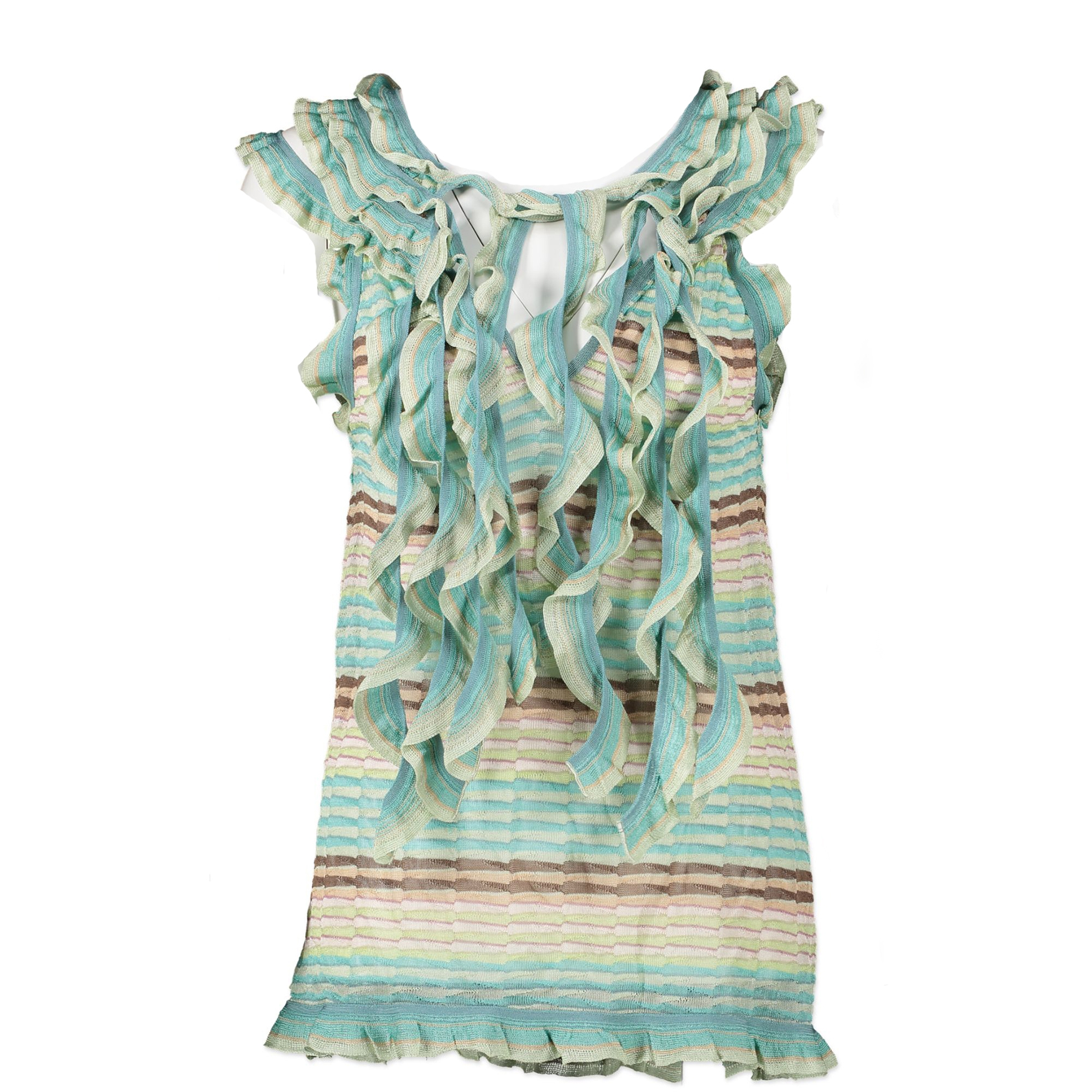 Missoni Turquoise Two Piece Co-ord Set - IT46.