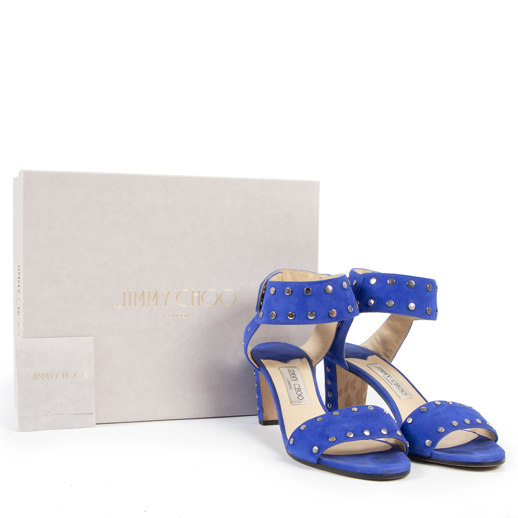 Authentic secondhand Jimmy Choo fashion luxury vintage webshop safe secure online shopping