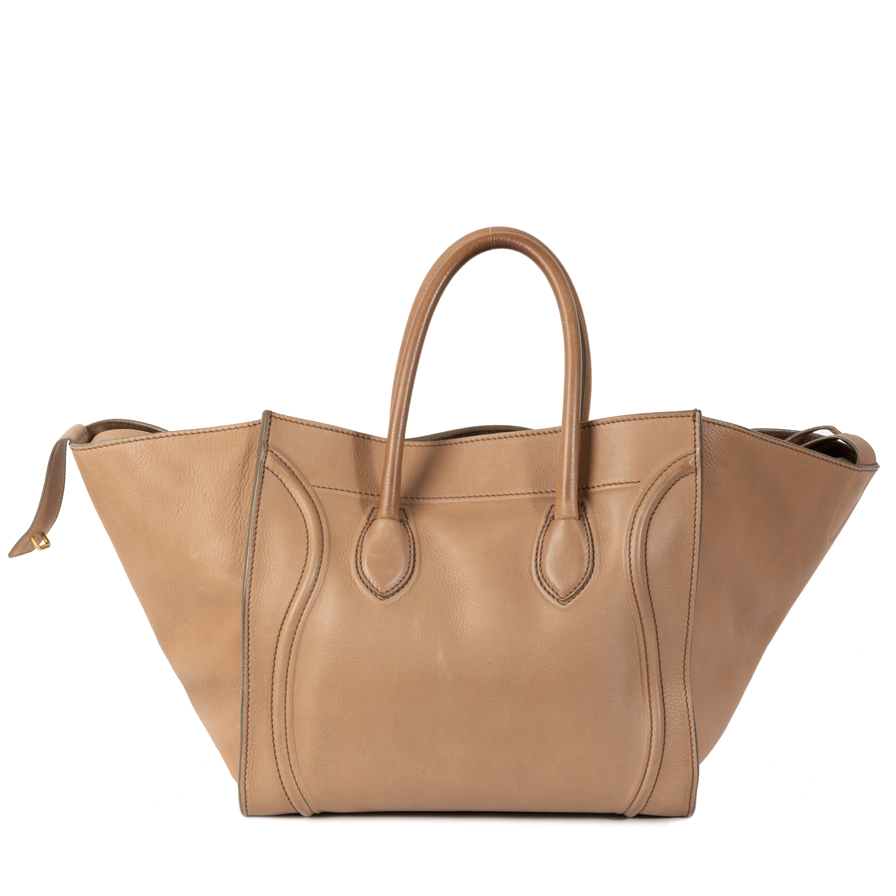 Authentic second-hand vintage Céline Luggage Phantom Tote Bag buy online webshop LabelLOV