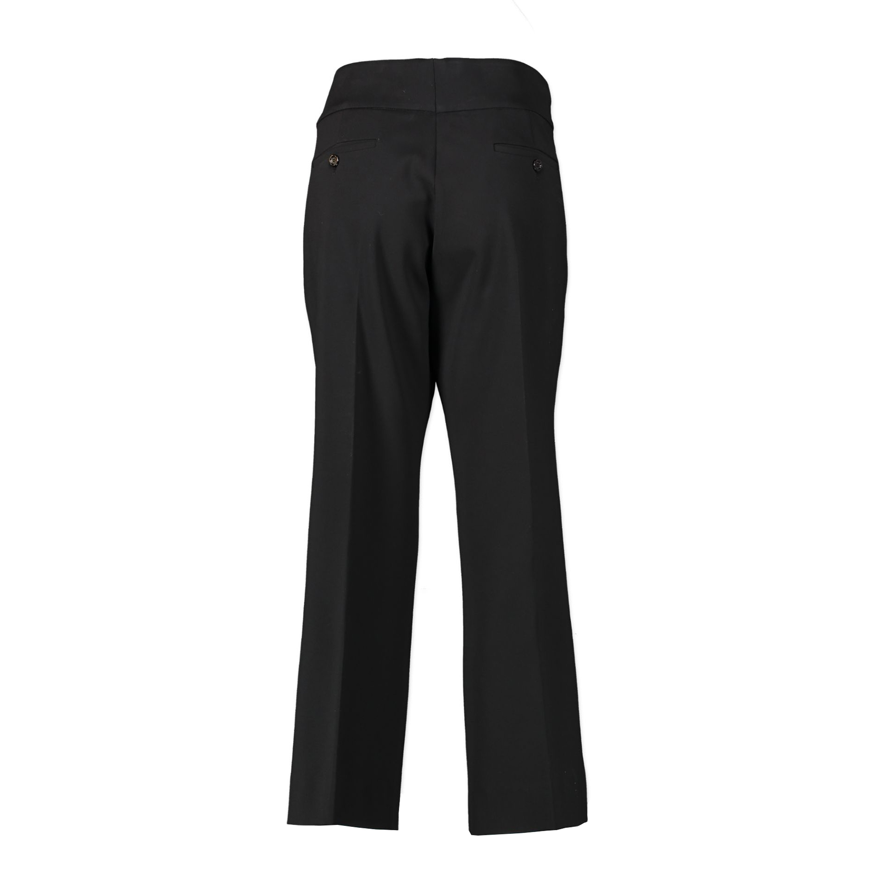 Authentic second-hand vintage Gucci GG Flared Black Trousers - Size IT48 buy online webshop LabelLOV