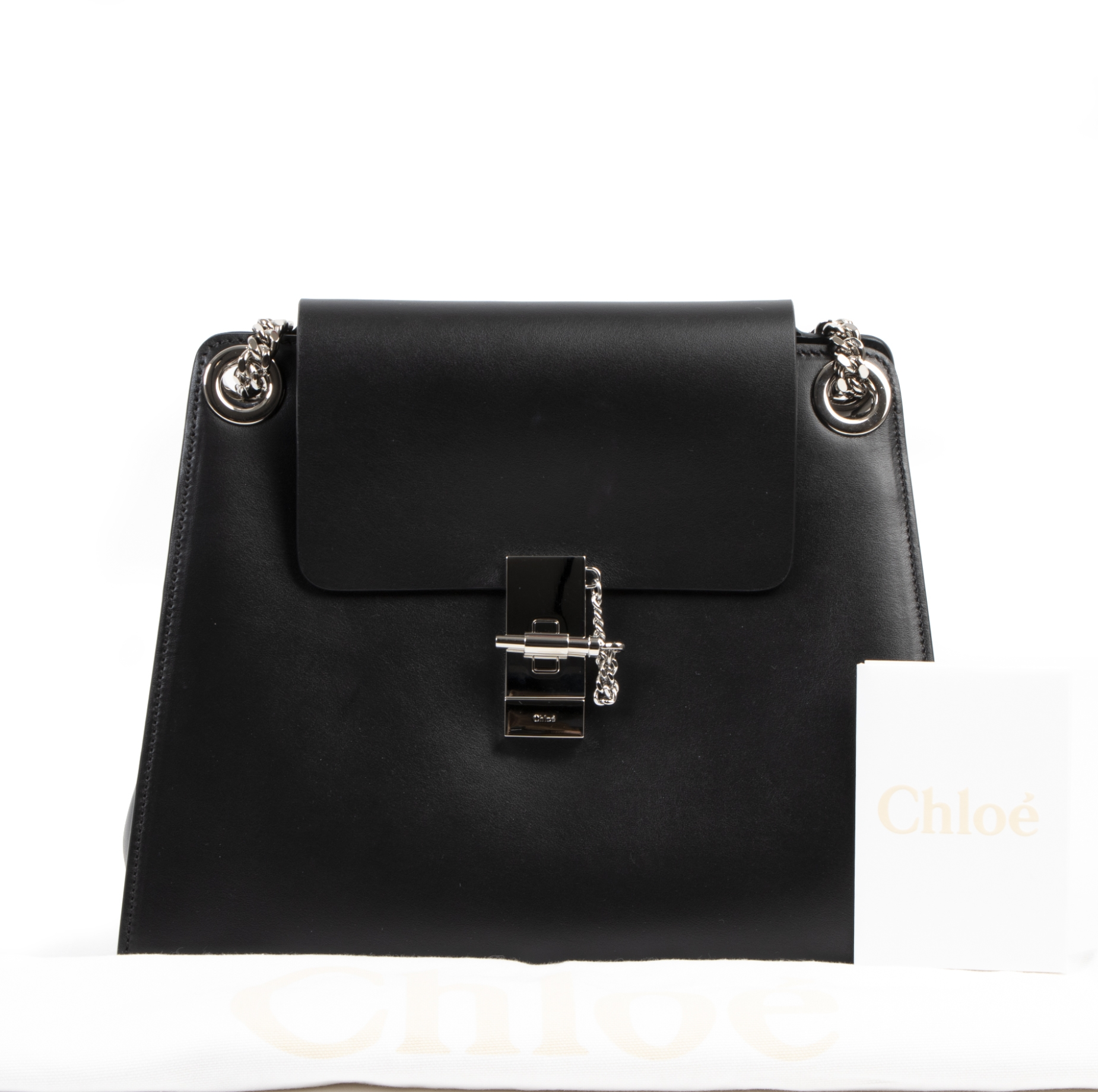 Chloé Black Annie Shoulder Bag GHW for the best price at Labellov secondhand luxury