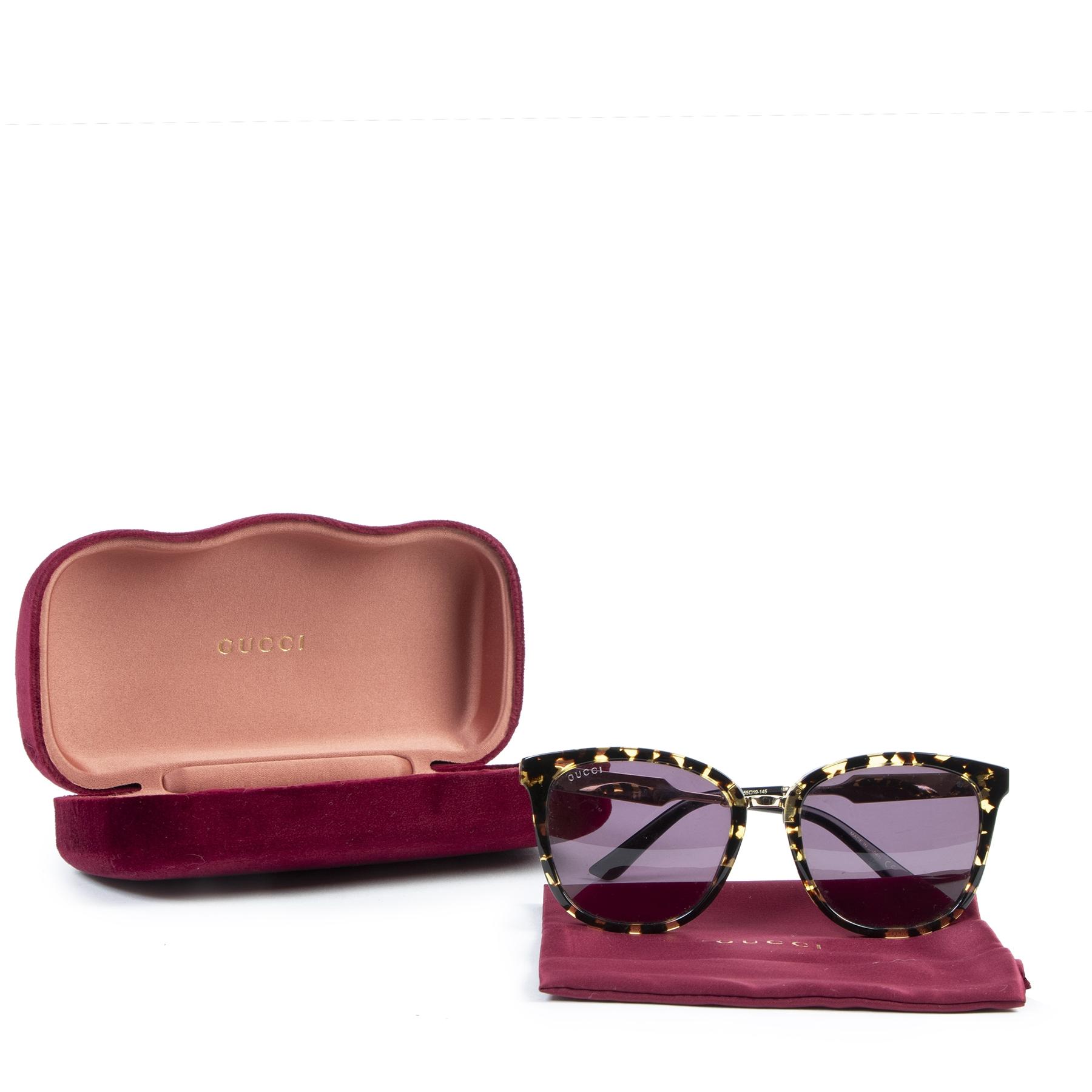 koop online Gucci Tortoise Sunglasses