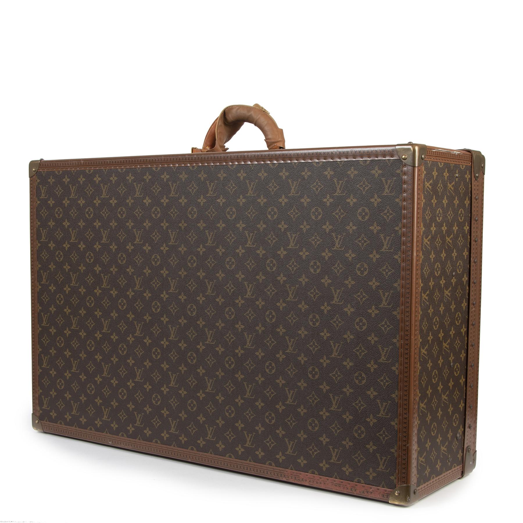 Louis Vuitton Alzer 80 Monogram Travel Case kopen en verkopen aan de beste prijs