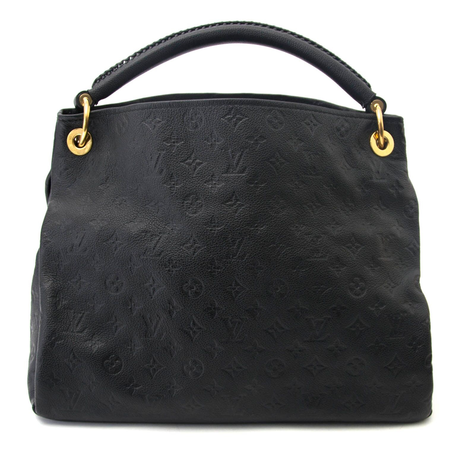 ... buy secondhand Louis Vuitton Black Leather Artsy MM at labellov 2aab92dfe6624
