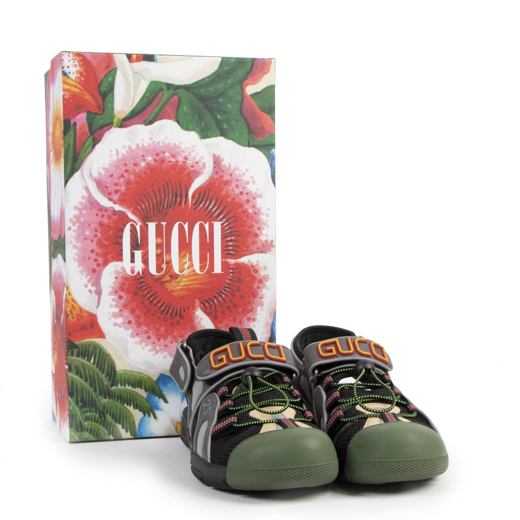 Authentic secondhand Gucci Multicolor Sandals - Size 41 designer shoes luxury vintage webshop safe secure online shopping