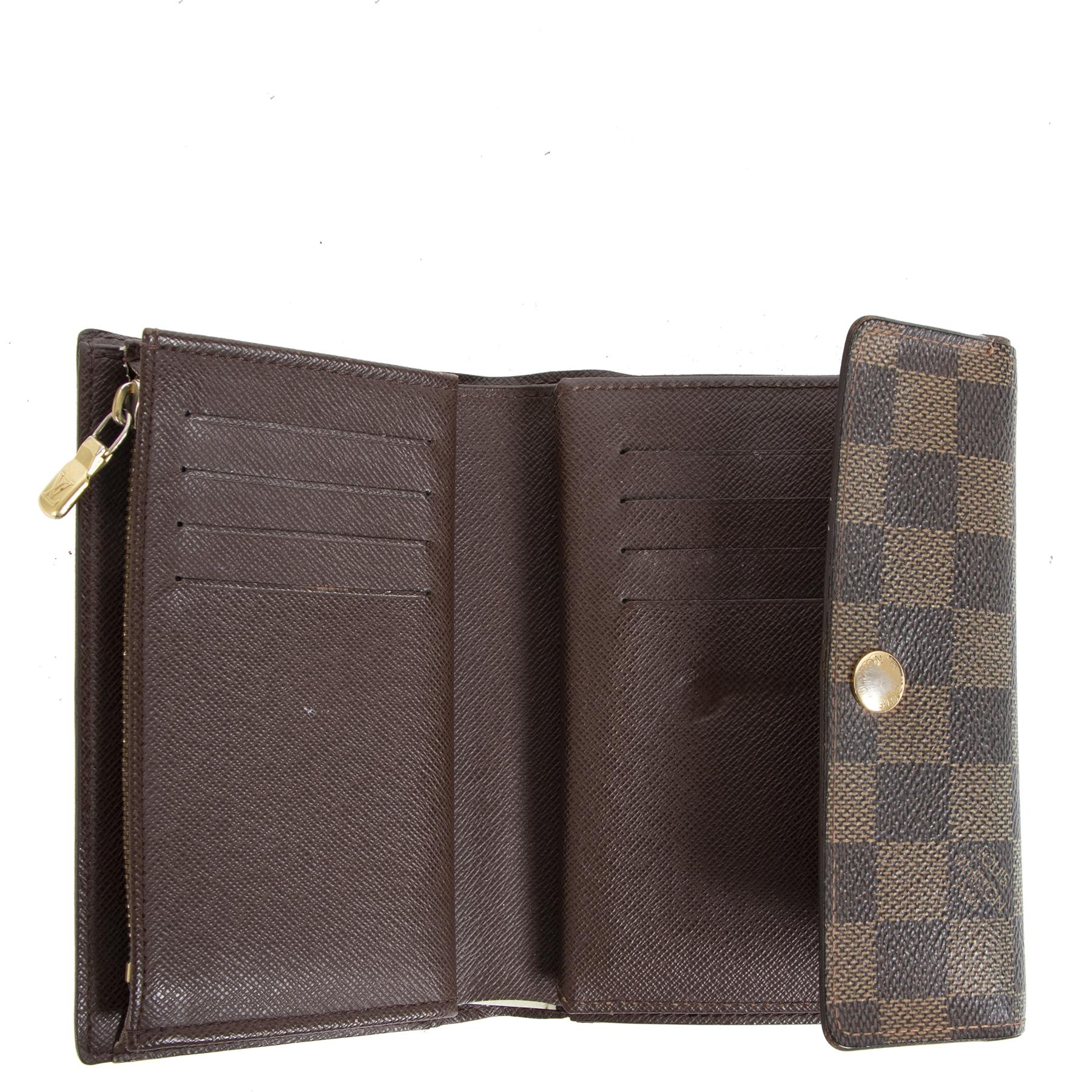Koop en verkoop uw authentieke Louis Vuitton Damier Ebene Wallet