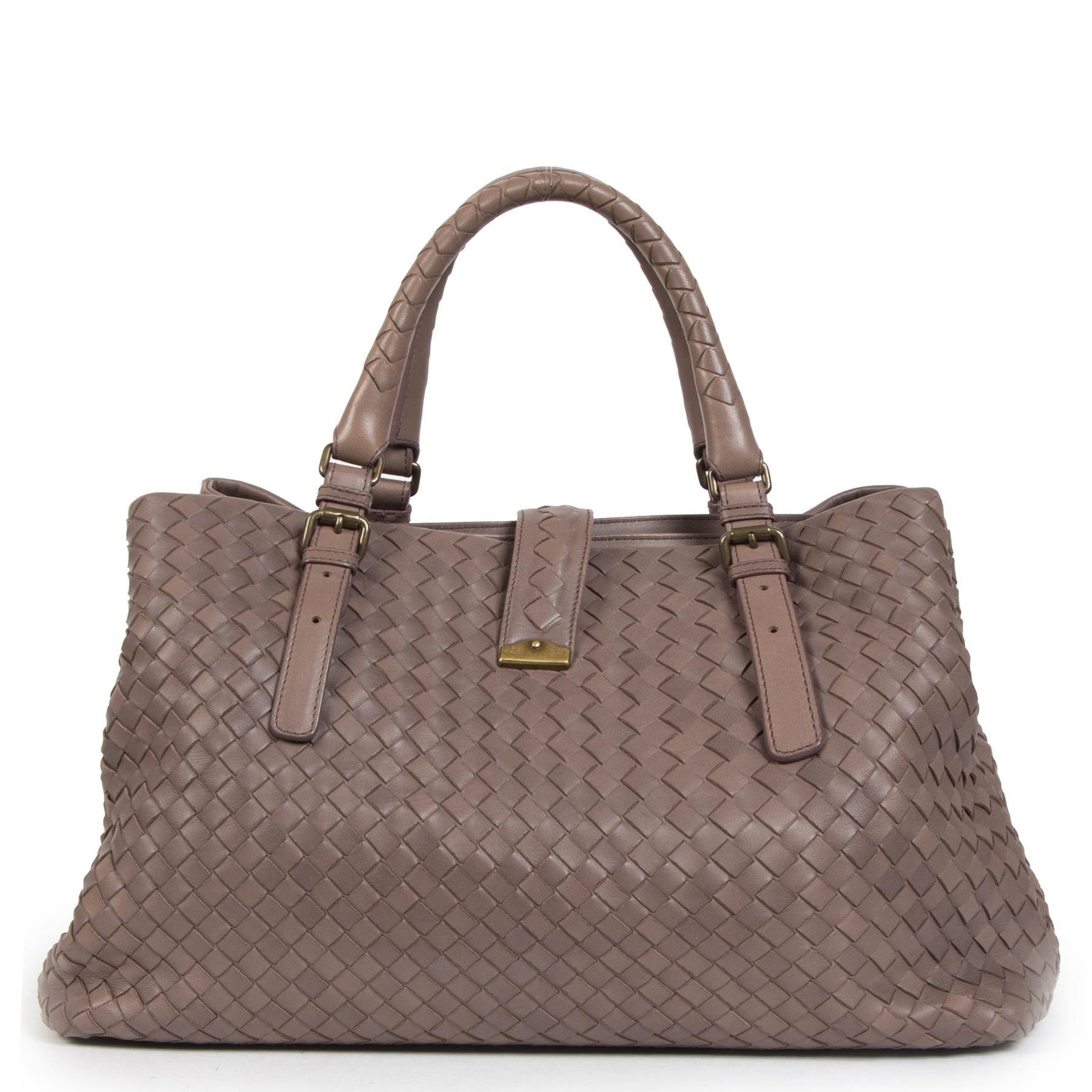 Are you looking for a Bottega Veneta Brown Intrecciato Roma Bag?