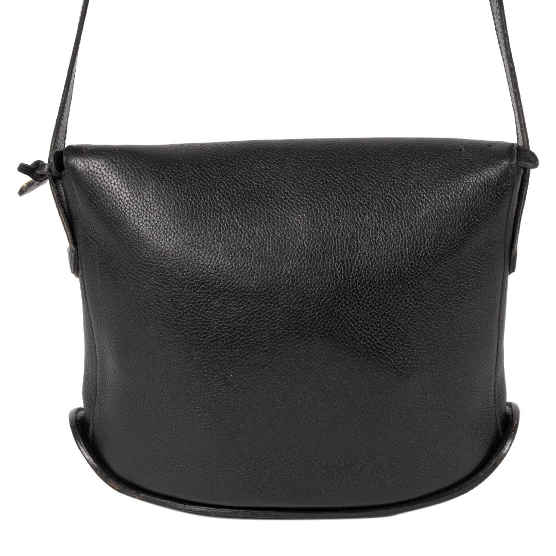 Authentieke Tweedehands Delvaux Black Idee Crossbody Bag juiste prijs veilig online shoppen luxe merken webshop winkelen Antwerpen België mode fashion