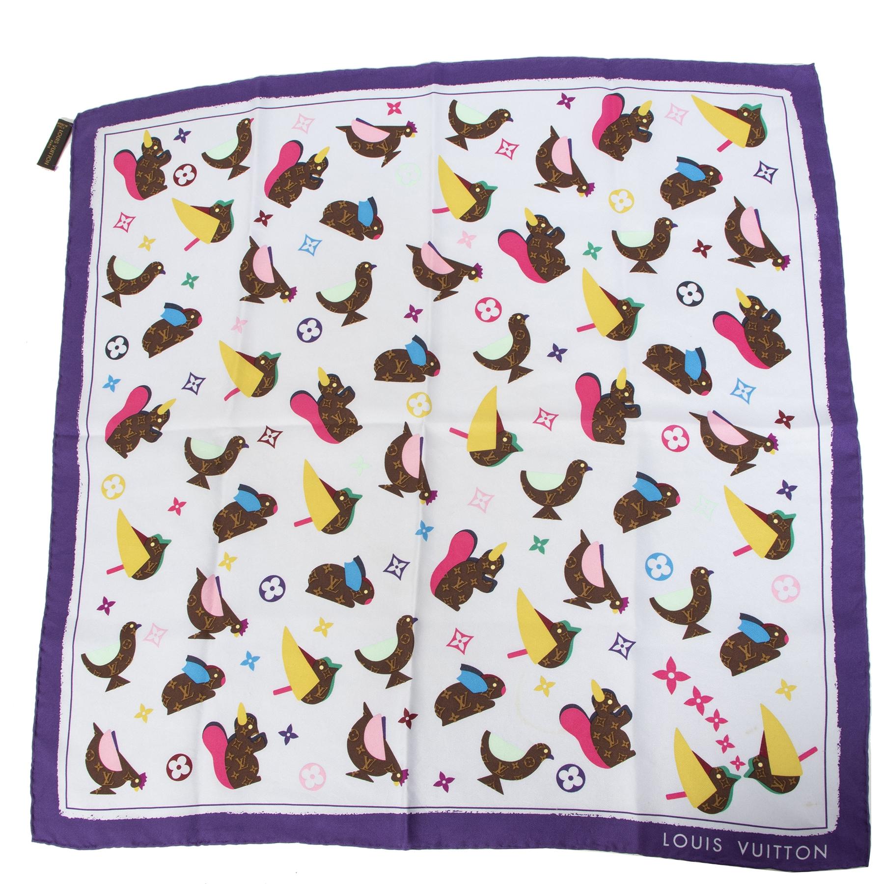 Koop tweedehands Louis Vuitton sjaaltjes aan de juiste prijs veilig online bij LabelLOV Antwerpen.