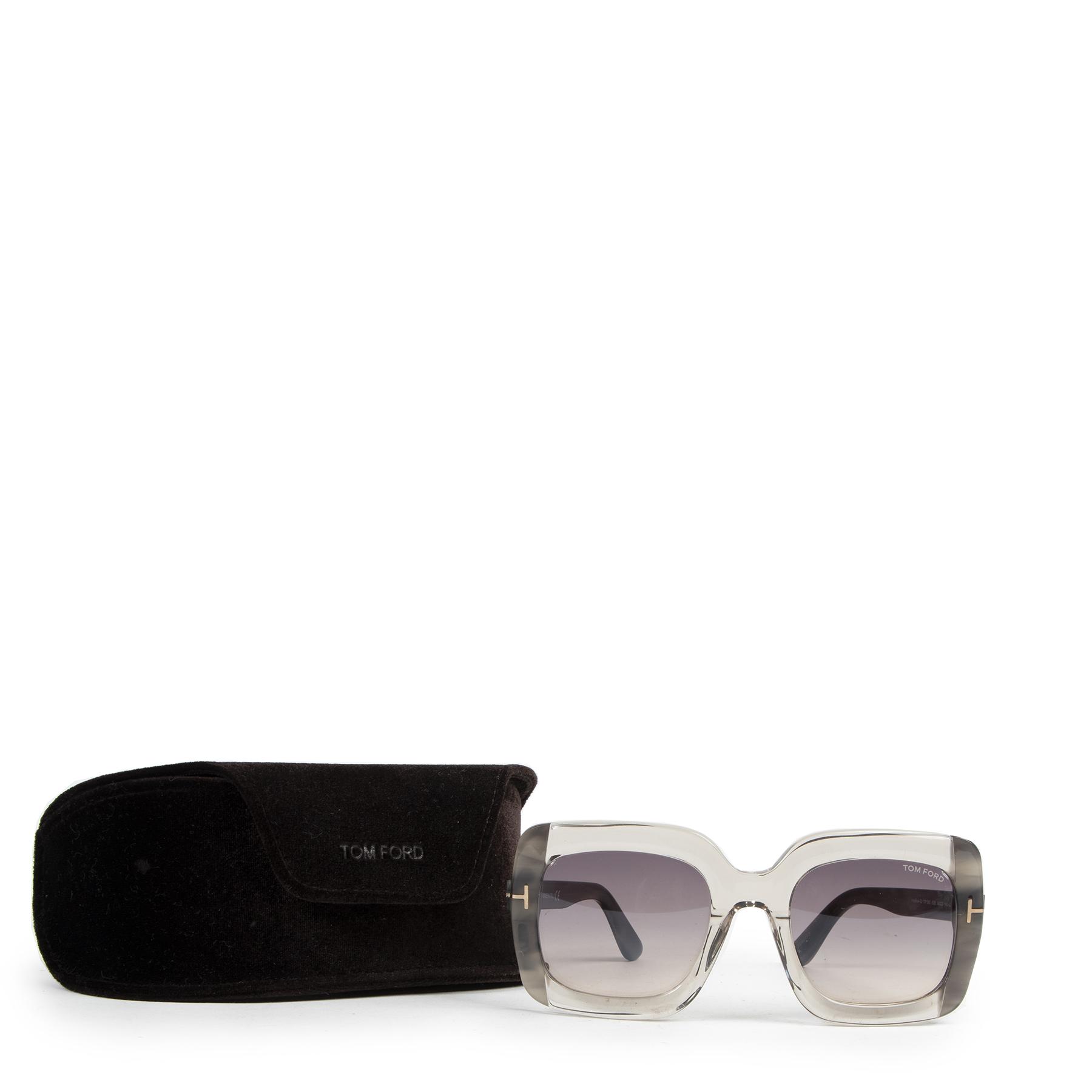 Authentieke tweedehands Tom Ford zonnebrillen juiste prijs veilig online winkelen LabelLOV webshop luxe merken winkelen Antwerpen België mode fashion