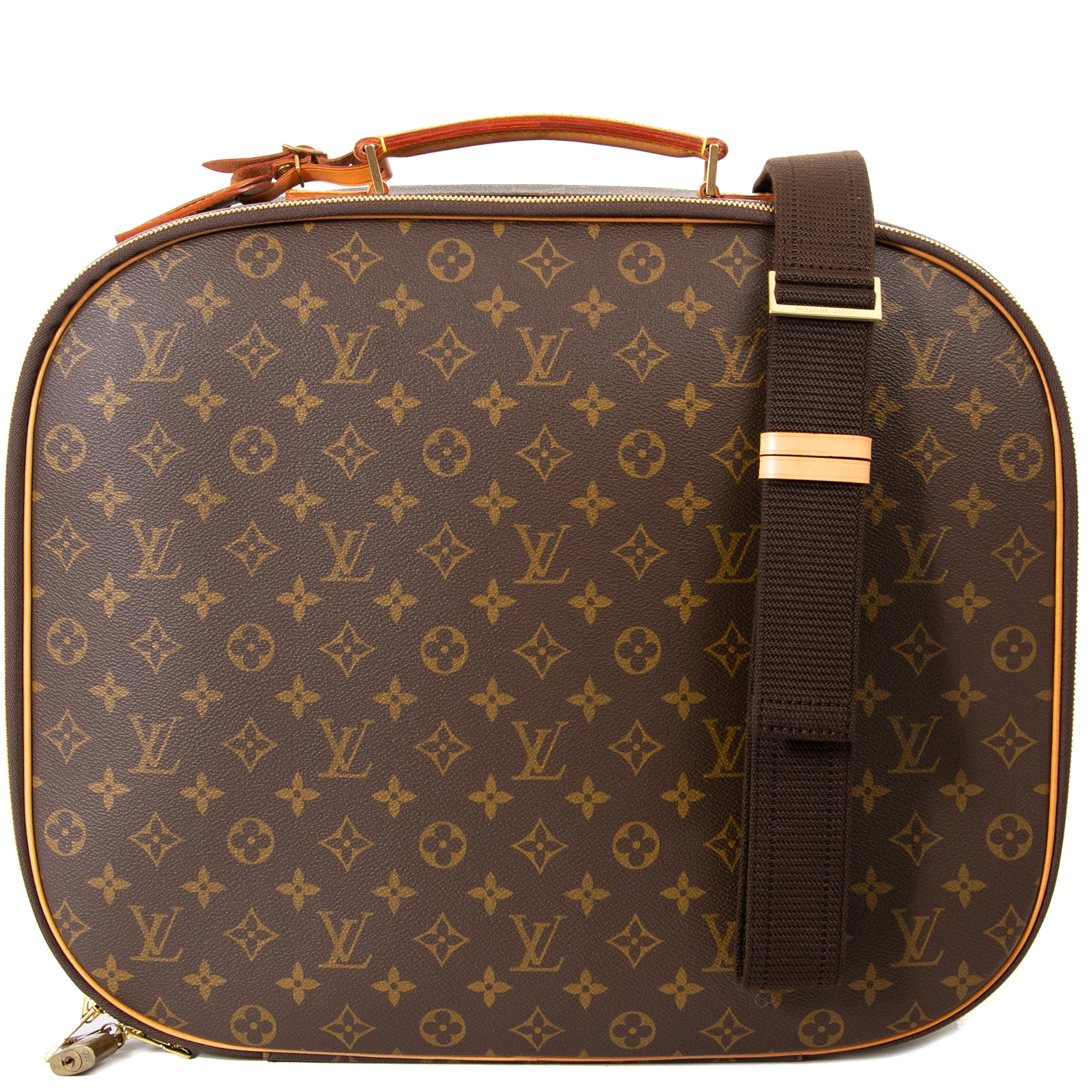 Buy your authentic Louis Vuitton Monogram Travel Case for the best price at Labellov secondhand luxury in Antwerp