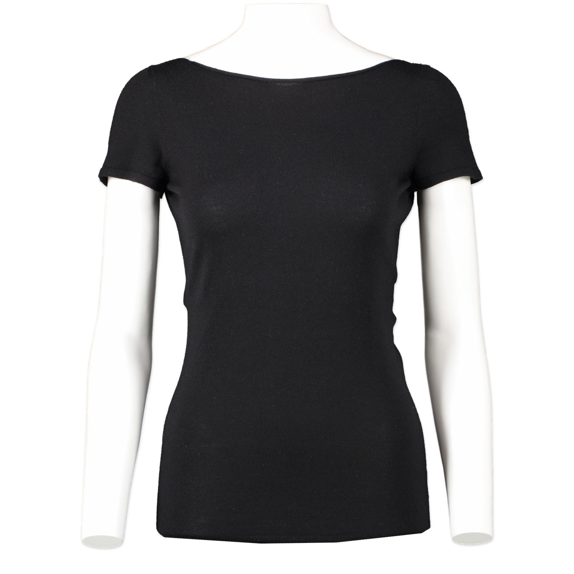 Authentieke Tweedehands Gucci Black Backless Silver Clasp Top juiste prijs veilig online winkelen Antwerpen België winkelen luxe merken webshop mode fashion