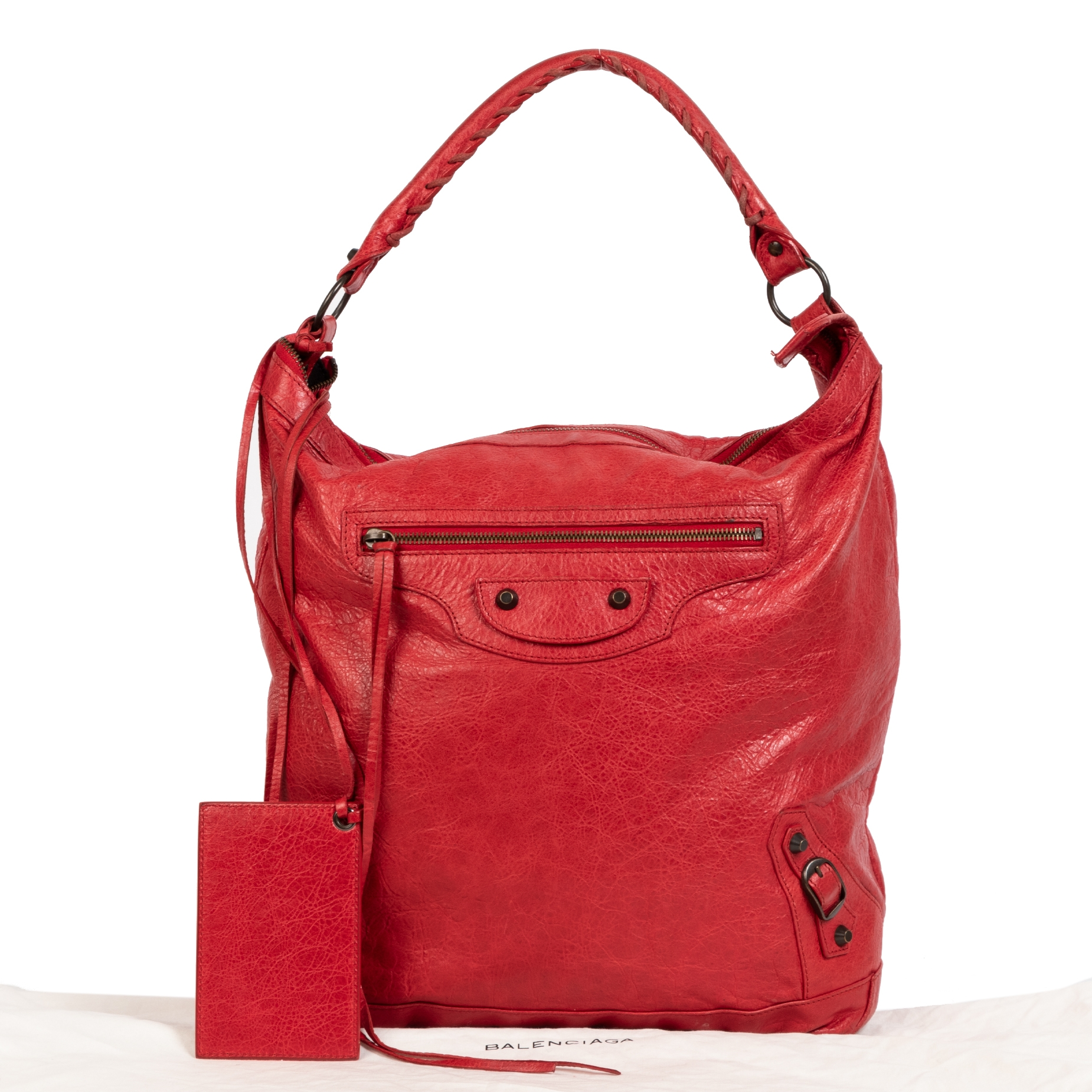 Buy and sell 100% authentic Balenciaga Red Classic Day Bag