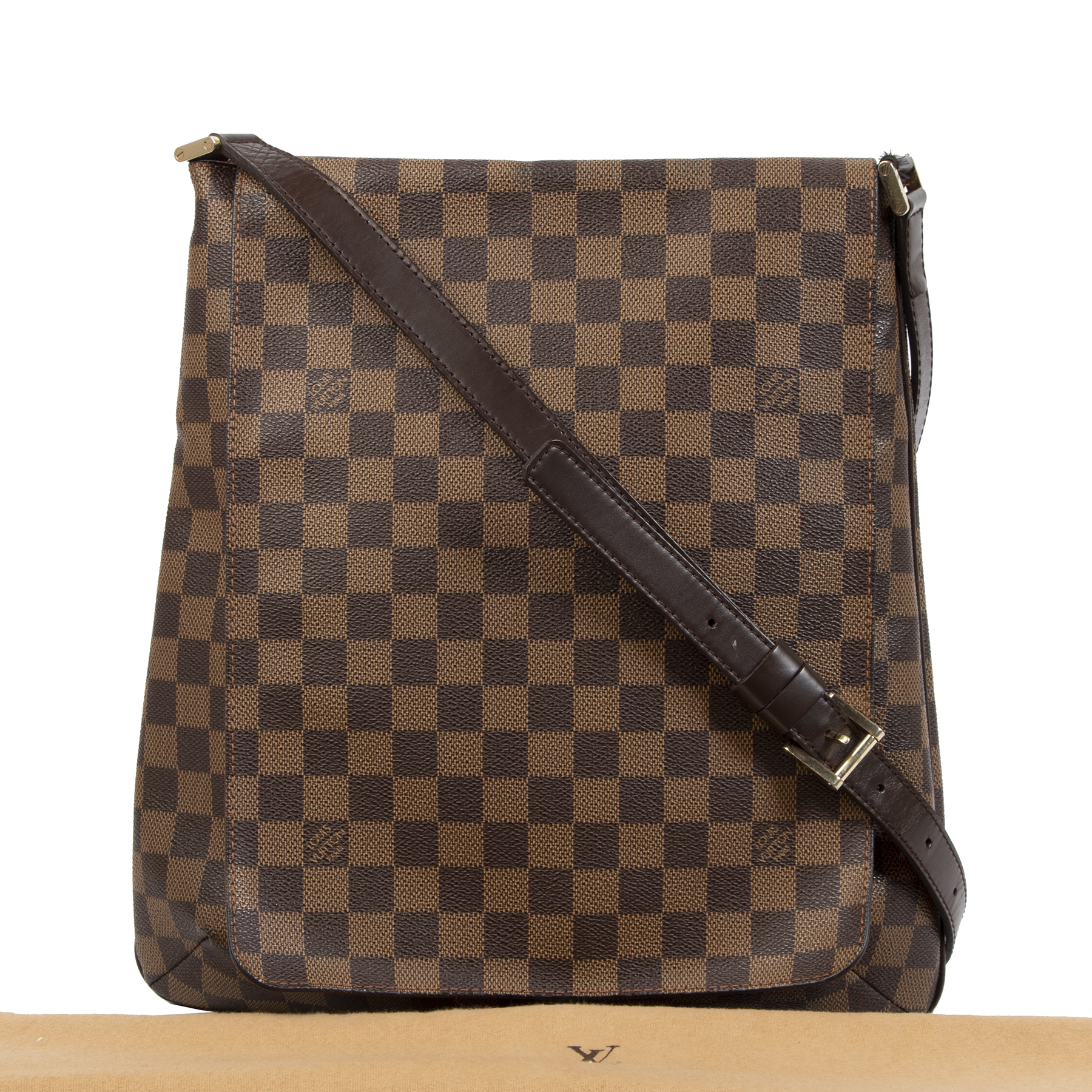 Buy and sell Louis Vuitton Damier Ebene Musette Salsa Bag