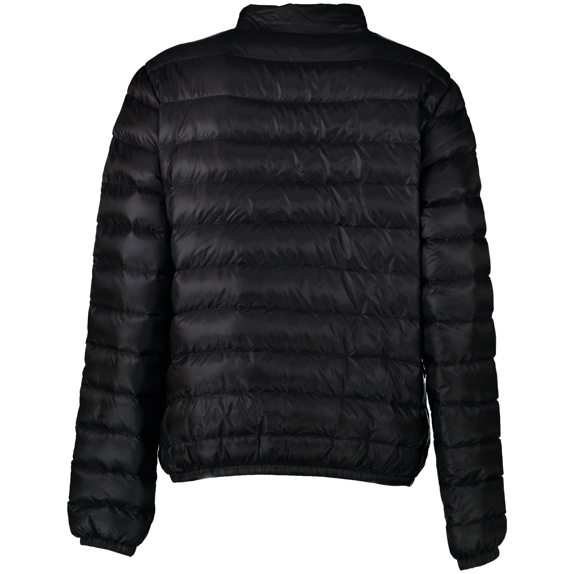 We buy and sell your authentic Moncler Black New Down Jacket - size 4