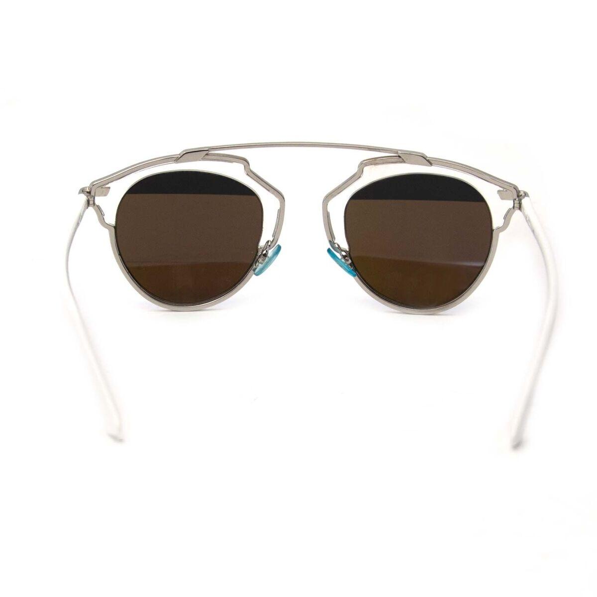 Koop authentieke tweedehands Dior So Real zonnebril aan een eerlijke prijs bij LabelLOV. Veilig online shoppen.