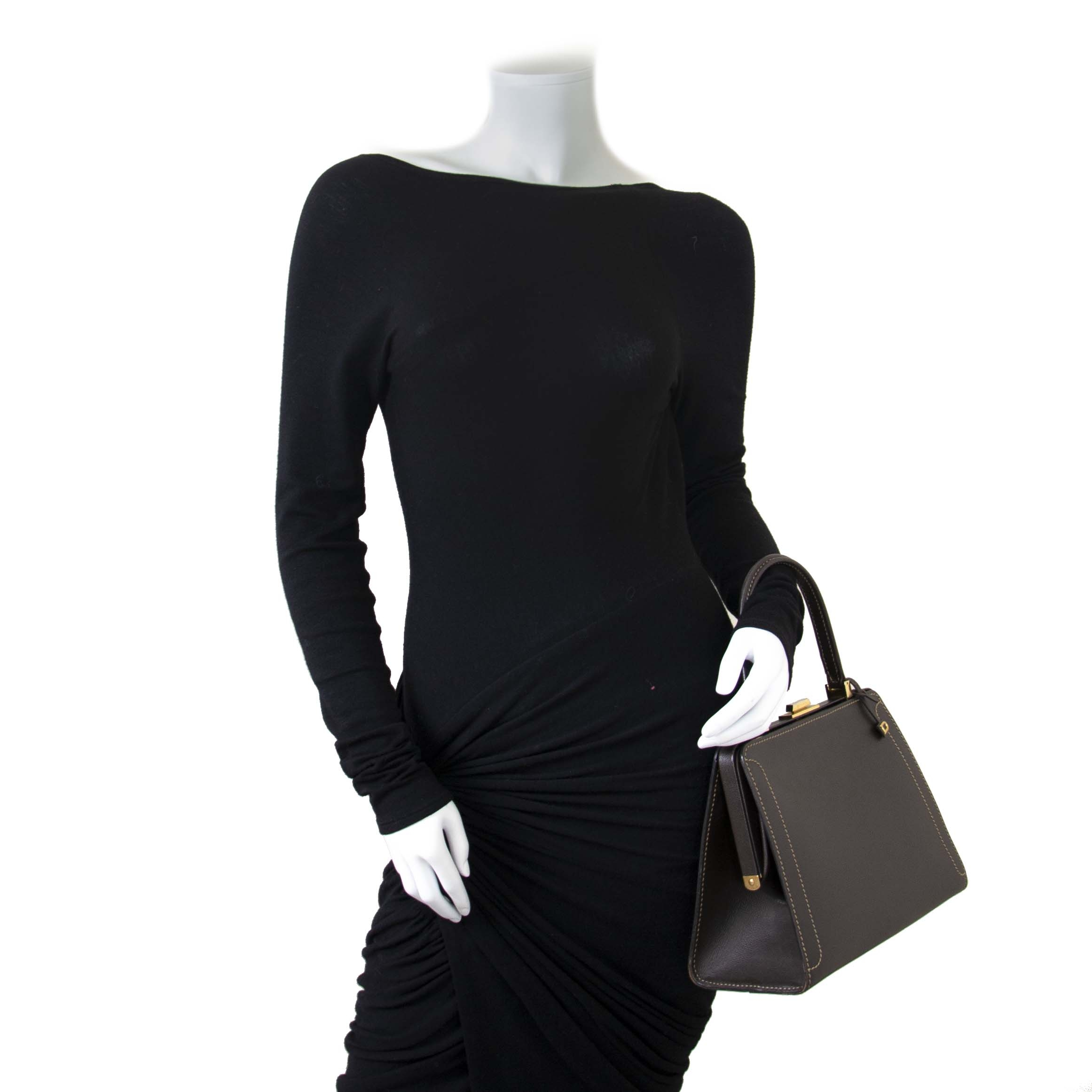 Delvaux Classico PM Jumping Bag now for sale at labellov vintage fashion webshop belgium