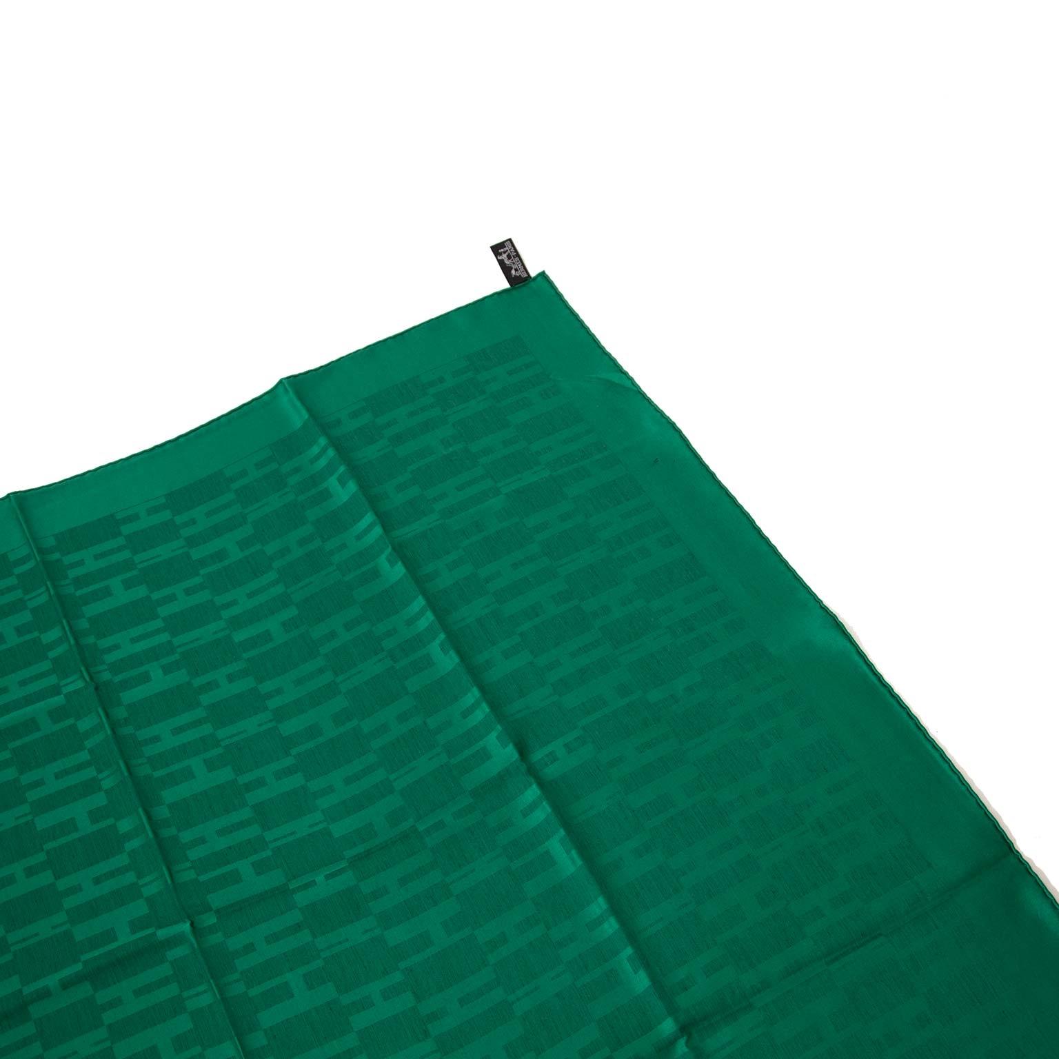 Hermès green scarfs now online at labellov vintage fashion webshop