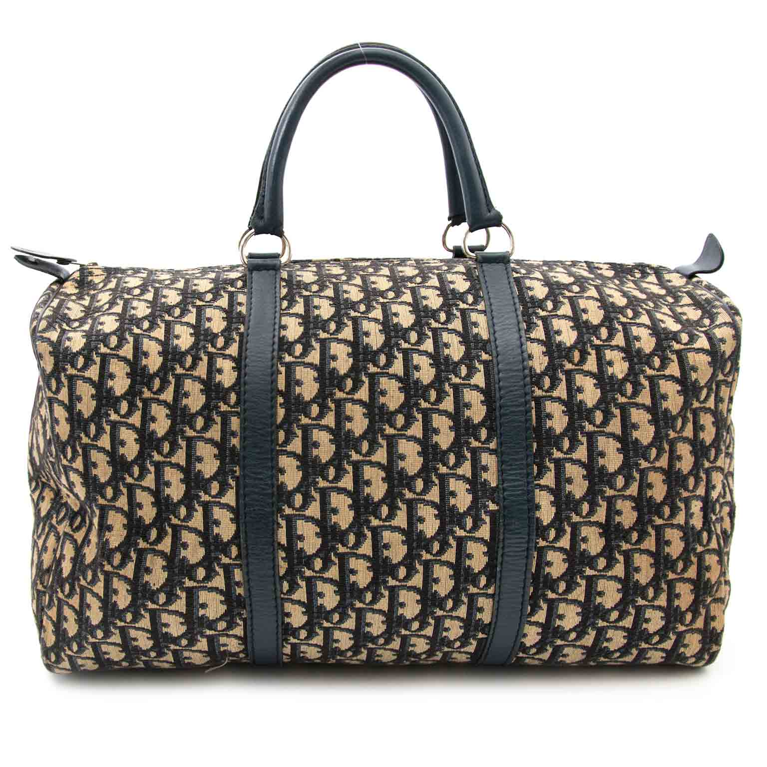 c829ef290a5c ... sale online at Labellov Dior Blue Monogram Boston Bag aan de beste  prijs bij Labellov