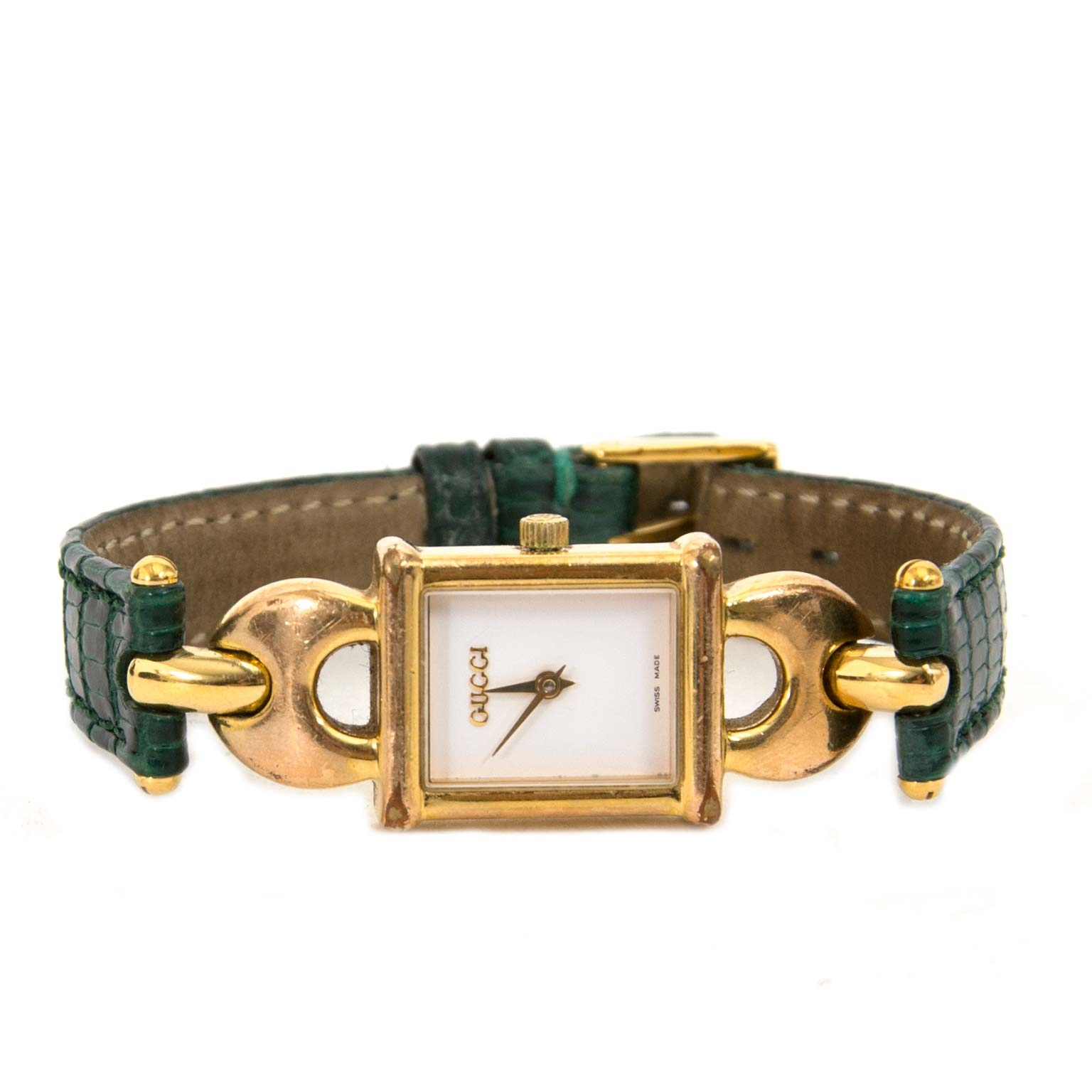 Buy safe online authentic Gucci 1800L Timepiece Watch at labellov antwerp vintage webshop