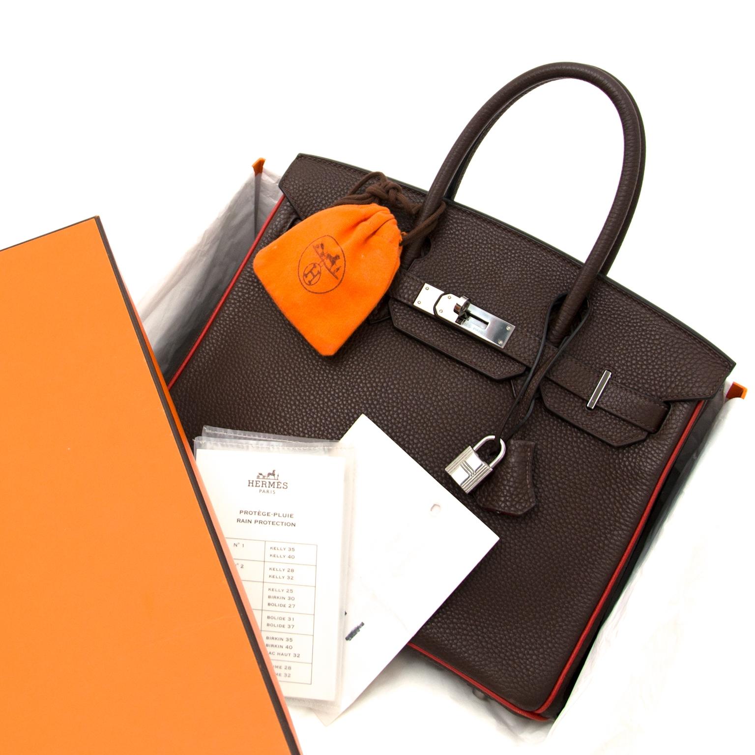 3d9b76ed99 ... acheter en ligne chez labellov.com Hermès Birkin 30 Togo Doublure chevre  pigmente