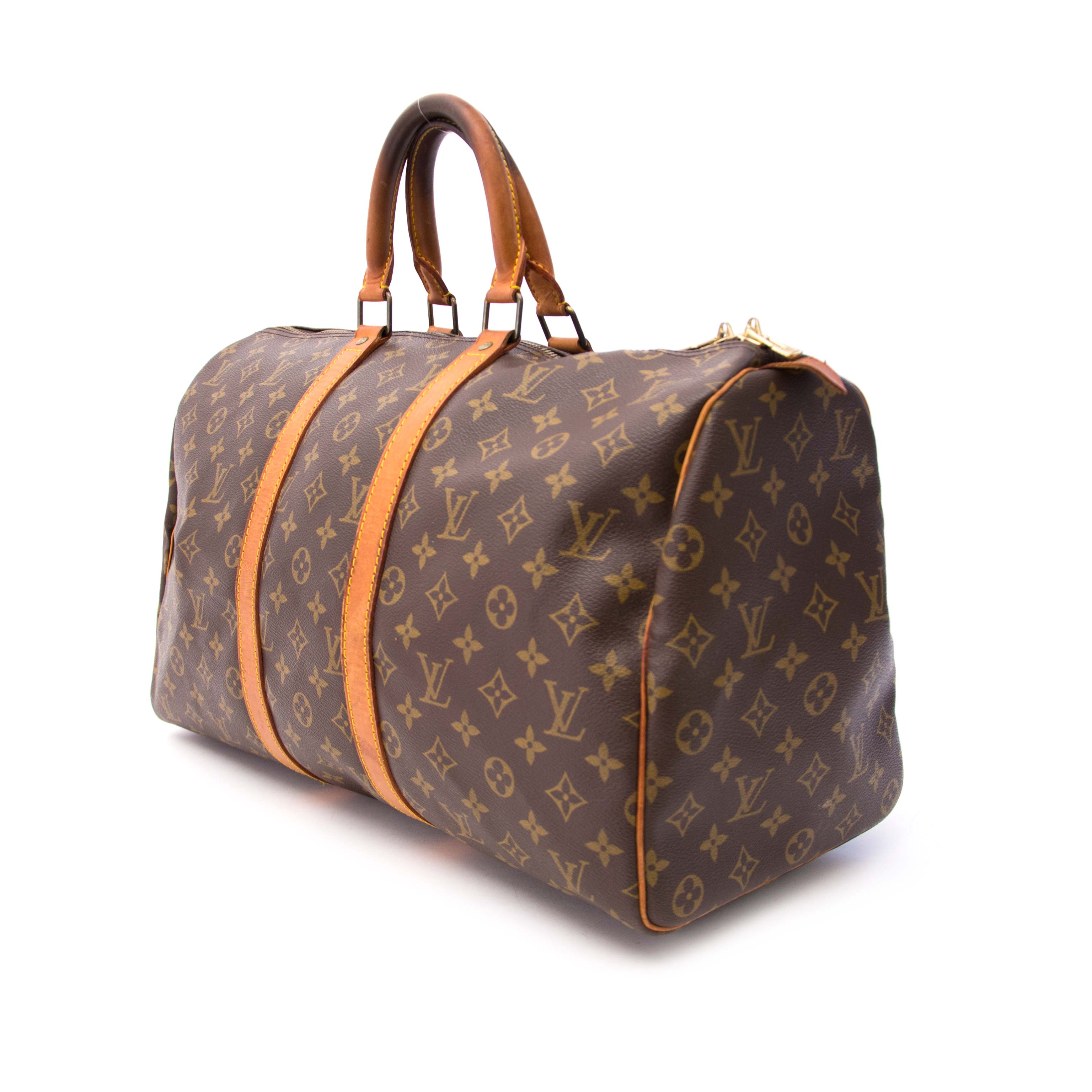 Buy authentic secondhand louis vuitton keepall 45