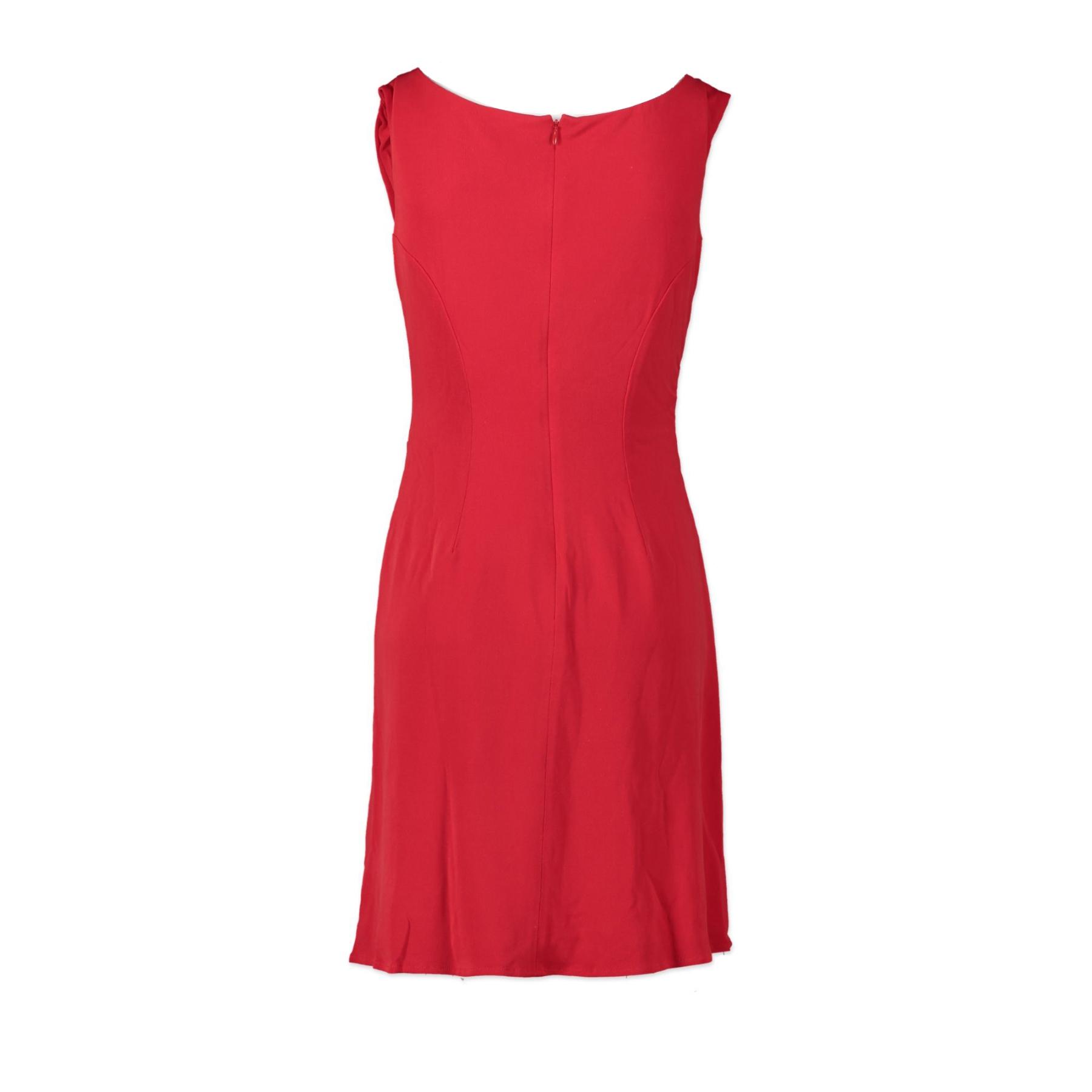 Issa London Red Silk Dress - UK8