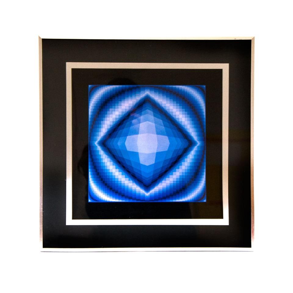 koop veilig online aan de beste prijs Victor Vasarely Framed Print