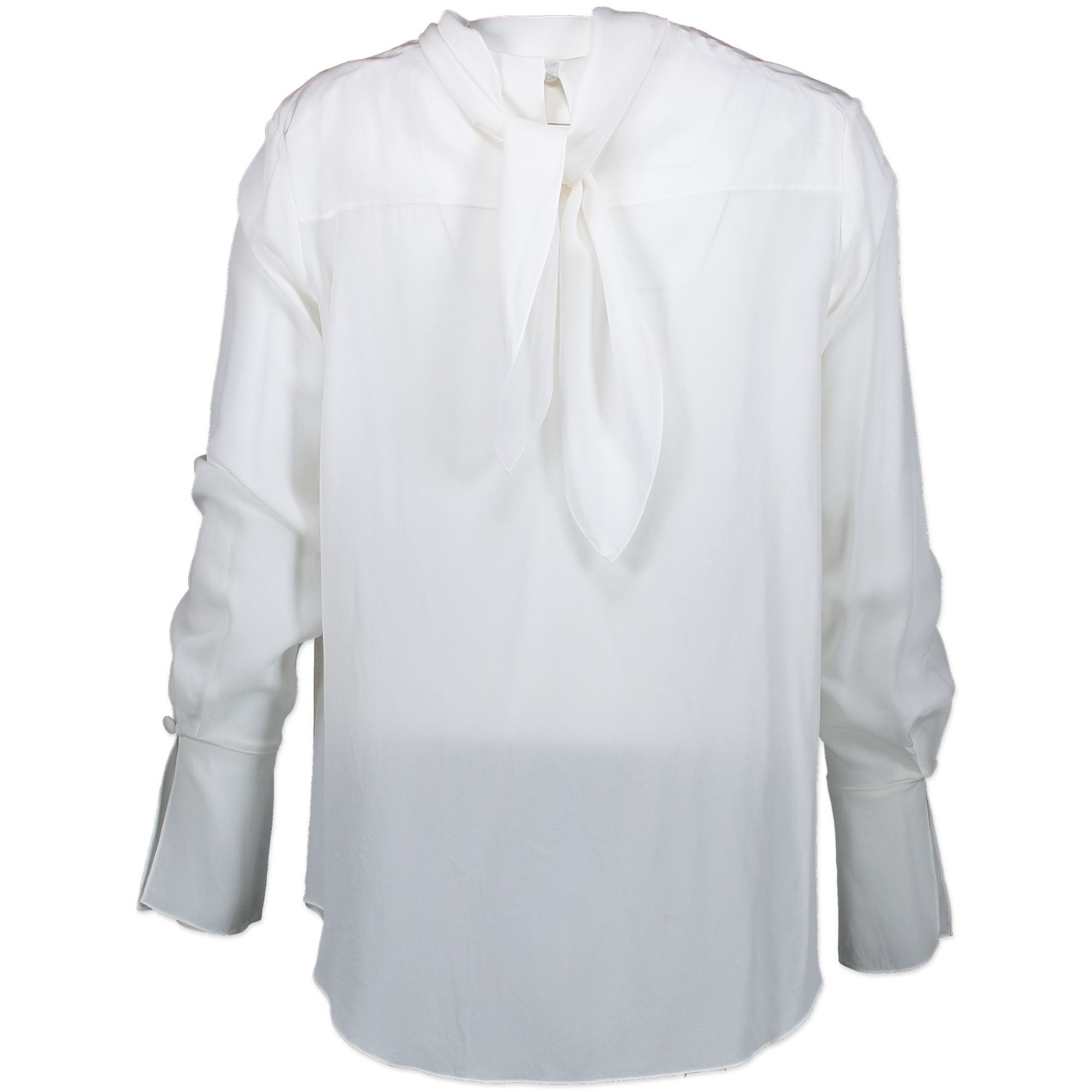 Chloé White Silk Top - 36  Buy authentic Secondhand silk top at the right prices at Labellov vintage webshop. Safe and secure designer online shopping. Koop authentieke tweedehands silk top voor de juiste prijs bij Labellov online webshop. Veilig online s