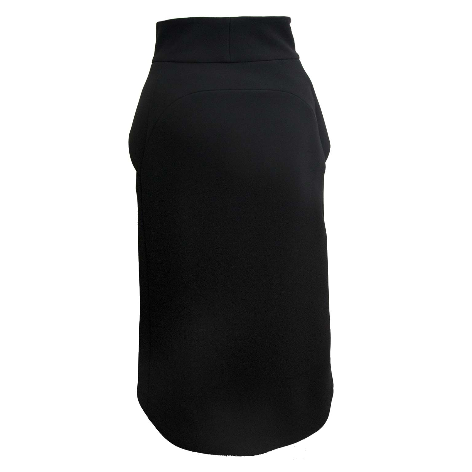 balenciaga black slip skirt now for sale at labellov vintage fashion webshop belgium