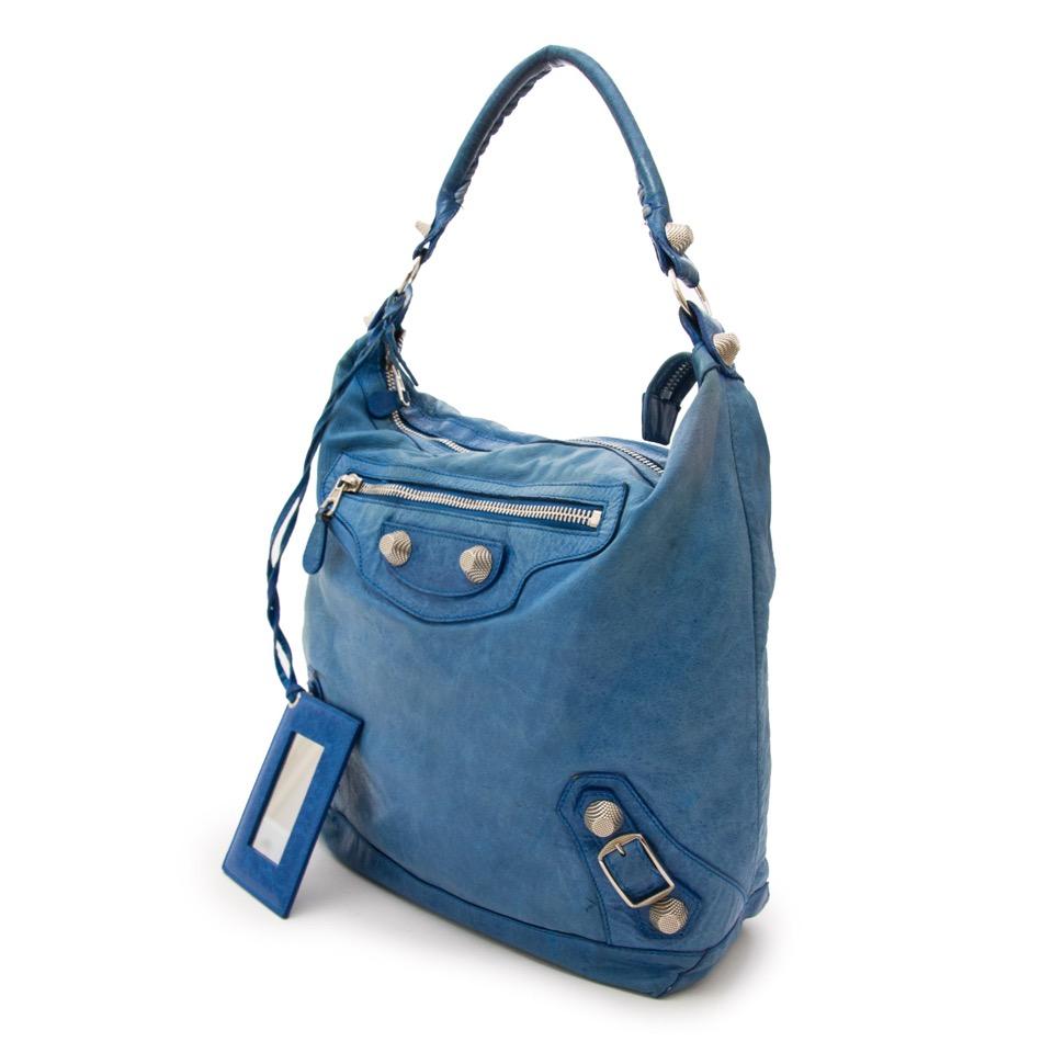 Acheter secure en ligne votre Balenciaga Blue Day Silver GHW pour le meilleur prix