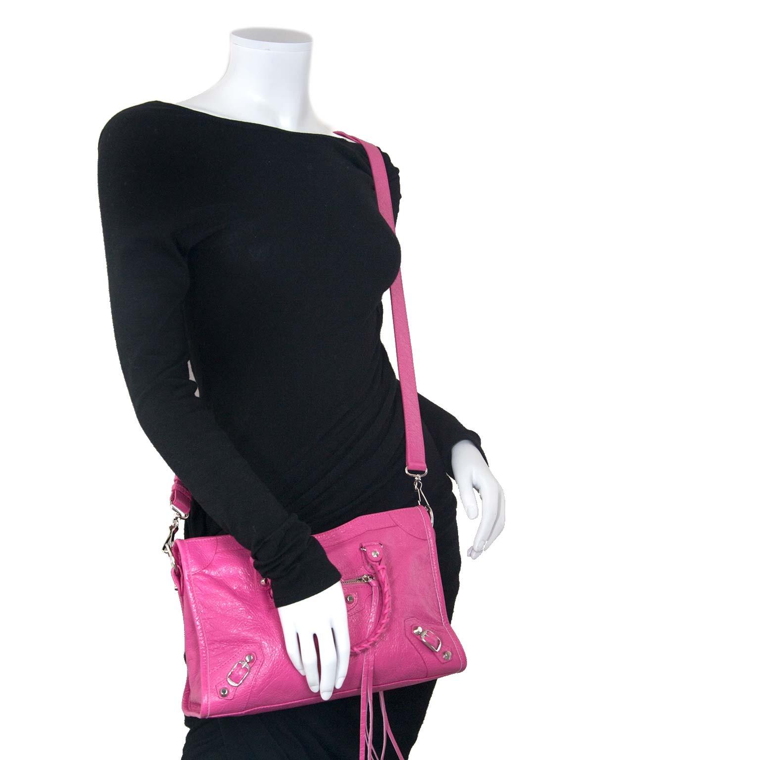 Balenciaga City S Rose Flamingo Agneau Leather te koop aan de beste prijs bij Labellov