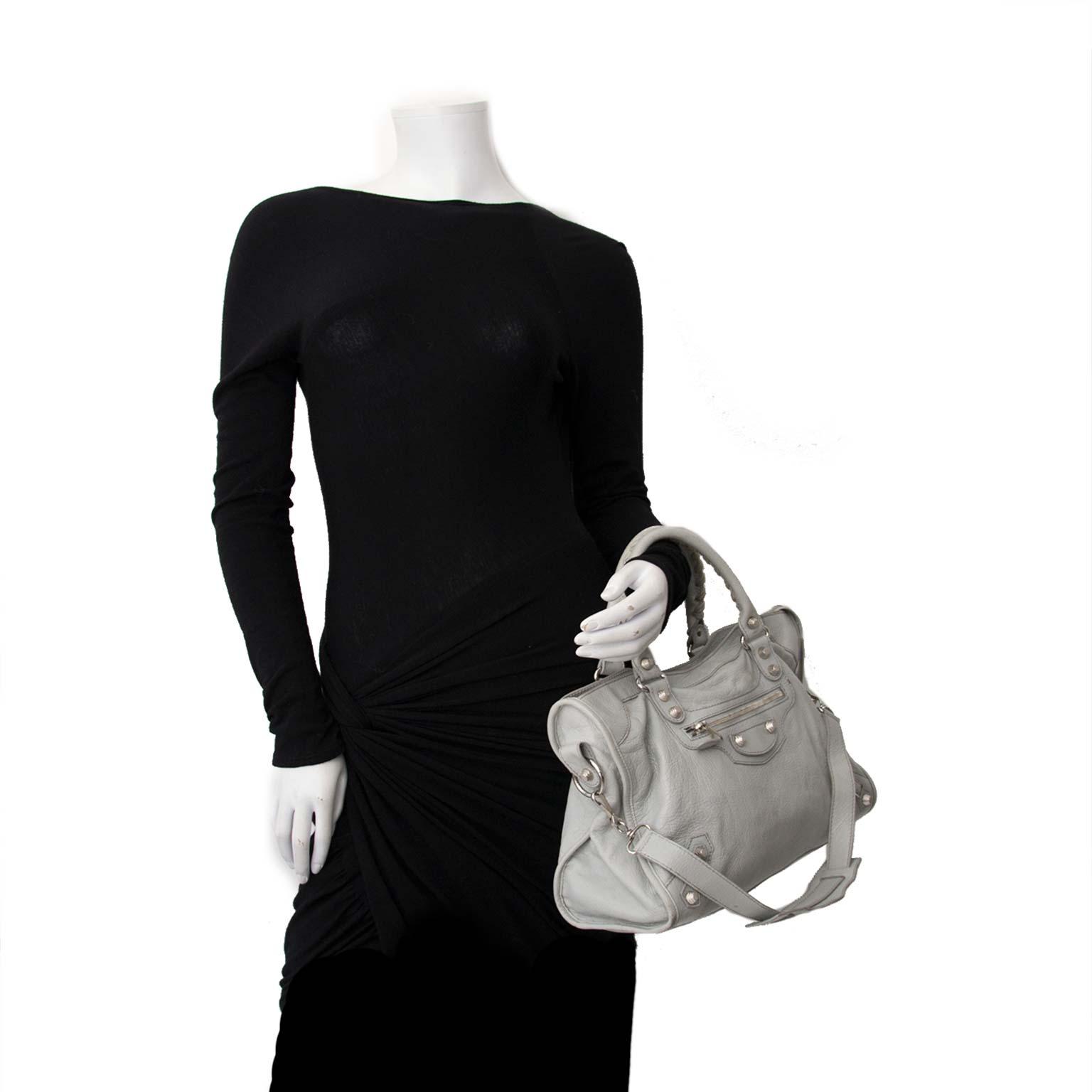 Acheter secur en ligne votre sac Balenciaga Giant Stone Grey City Bag pour le meilleur prix