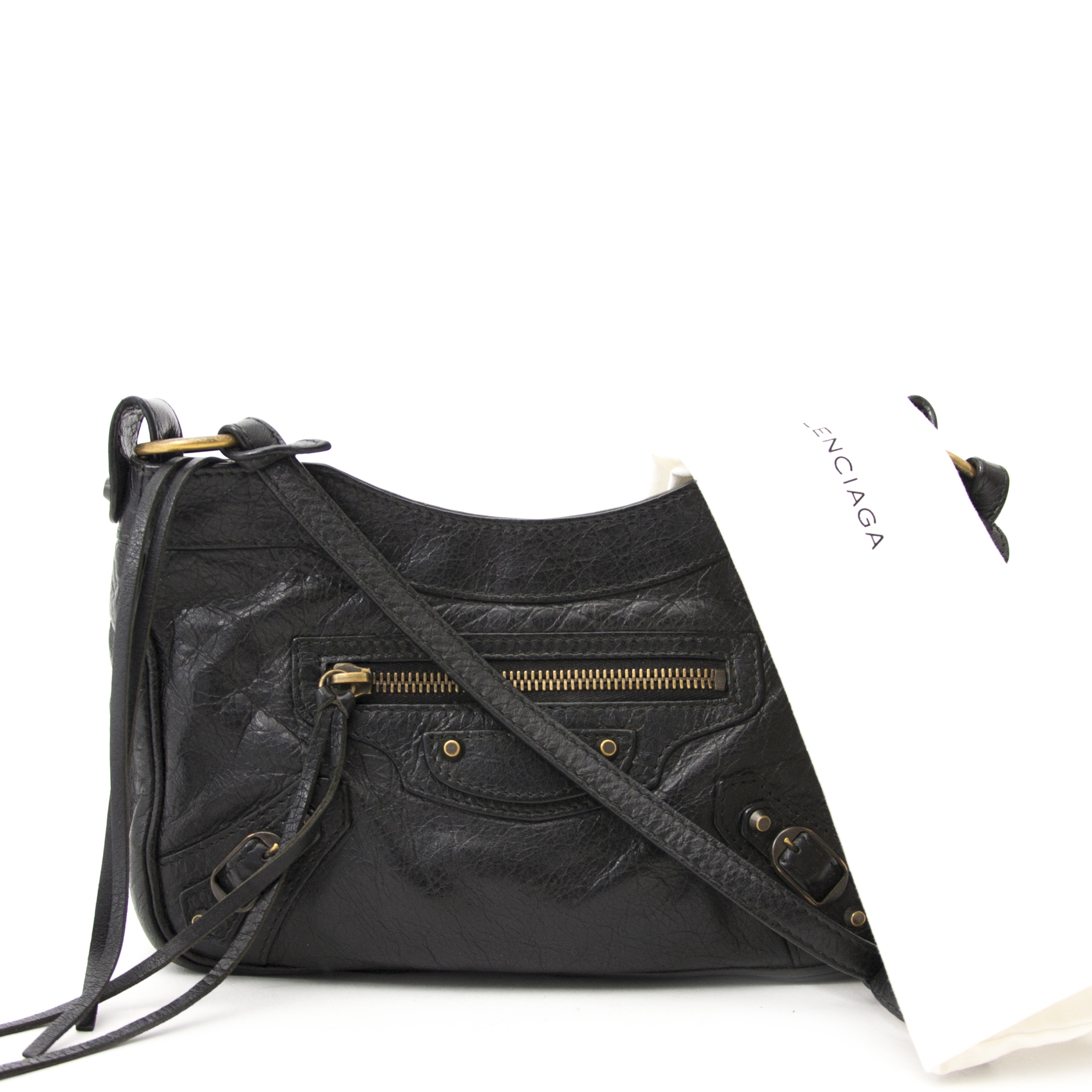 2864626afc Labellov Balenciaga Classic Gold Hip Bag ○ Buy and Sell Authentic ...