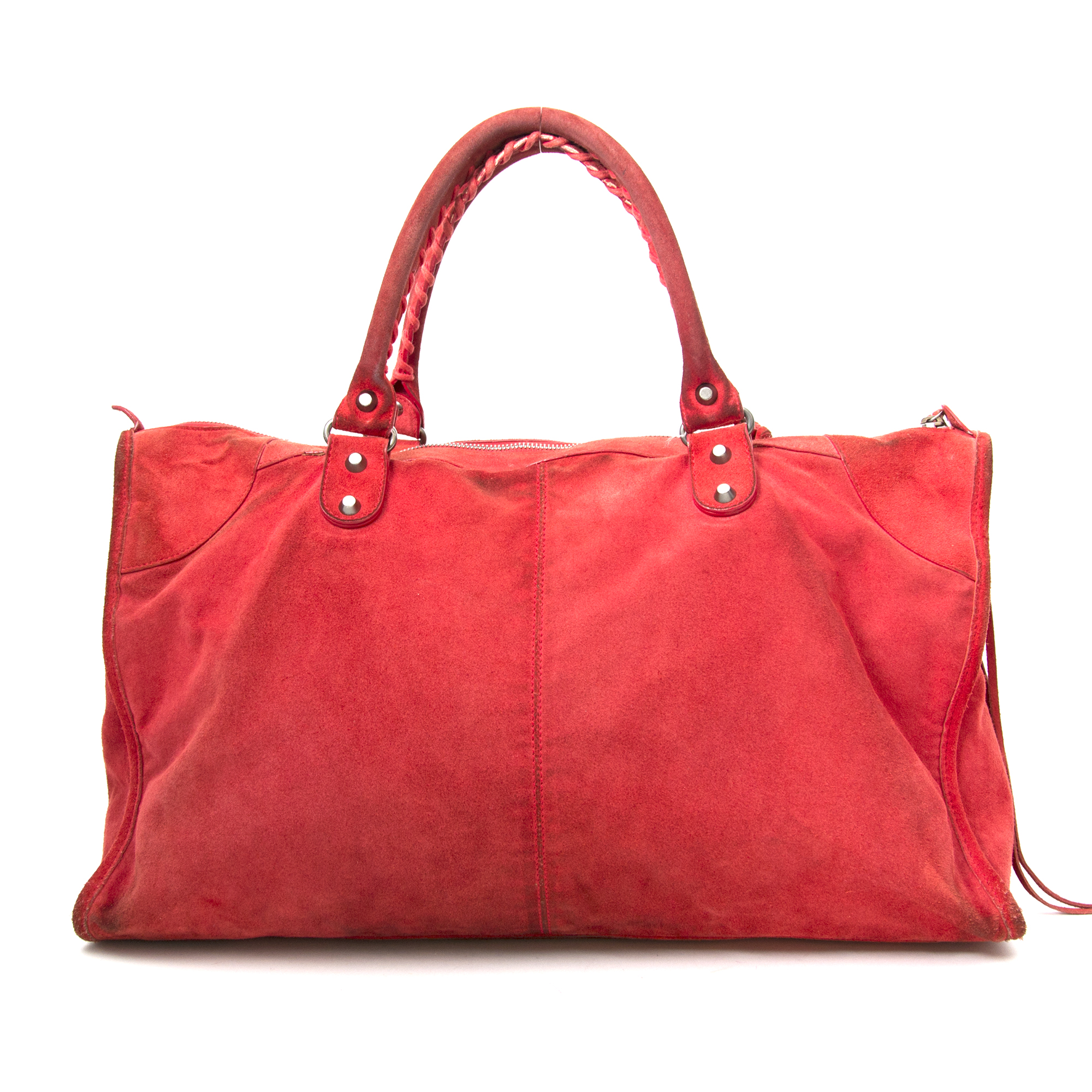 Vintage Balenciaga red work bag for the best price at Labellov webshop. Safe and secure online shopping with 100% authenticity. Vintage Balenciaga rouge work bag pour le meilleur prix.
