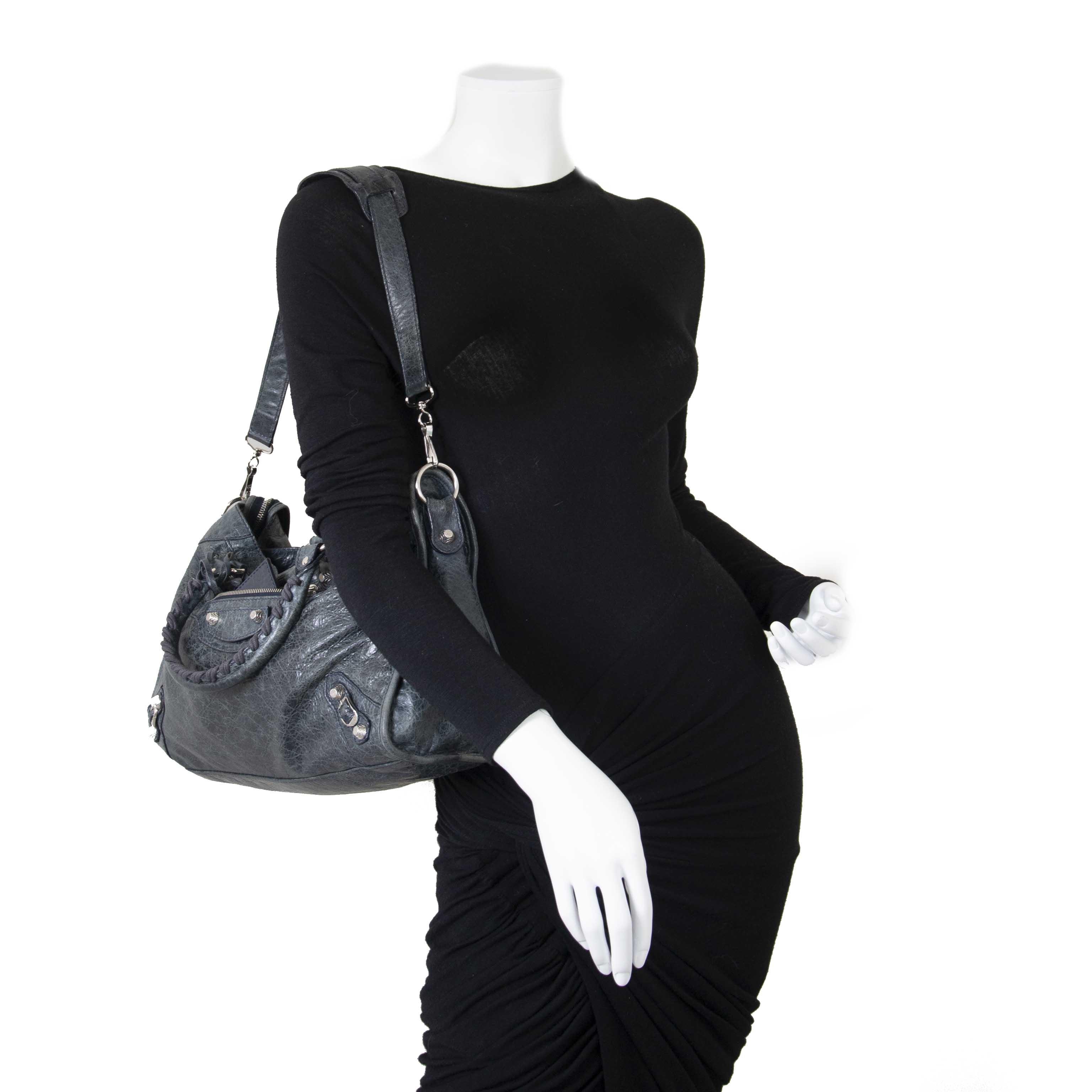 779f4214859b1 ... Balenciaga Agneau Giant 12 City Dark Knight now for sale at labellov  vintage fashion webshop belgium