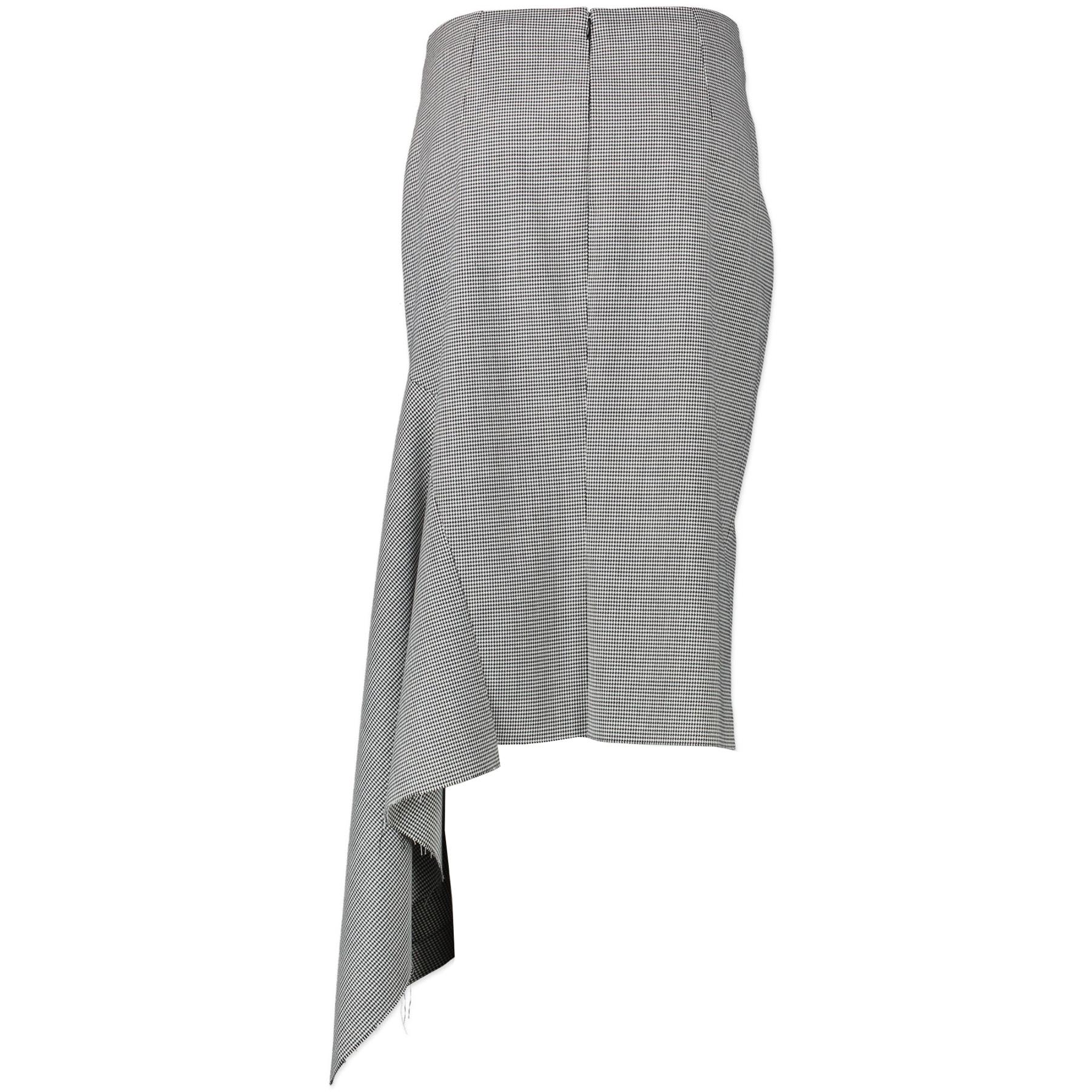 Koop authentieke Balenciaga Asymetrical Houndstooth Skirt - Size 40 aan de jusite prijs online in alle veiligheid LabelLOV Antwerpen België