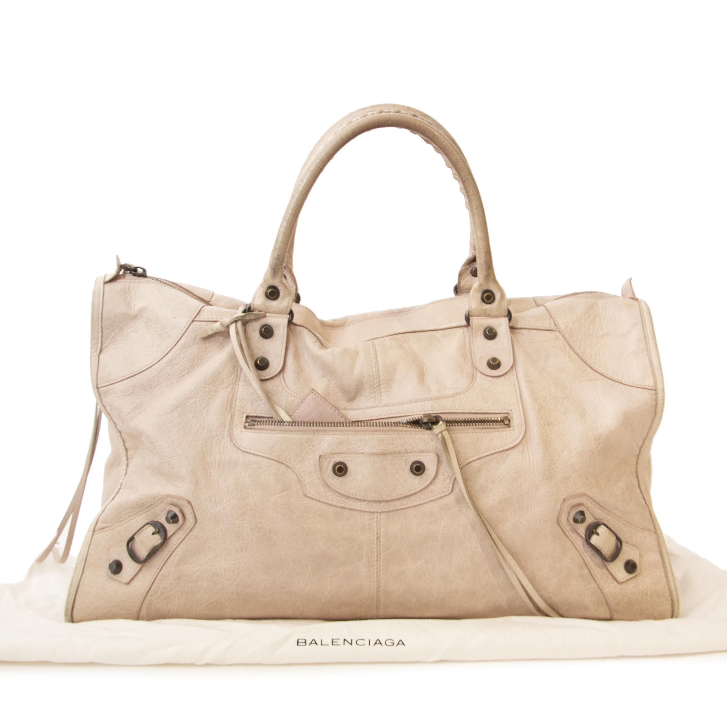 Balenciaga Blush Pink Work Bag kopen en verkopen aan de beste prijs