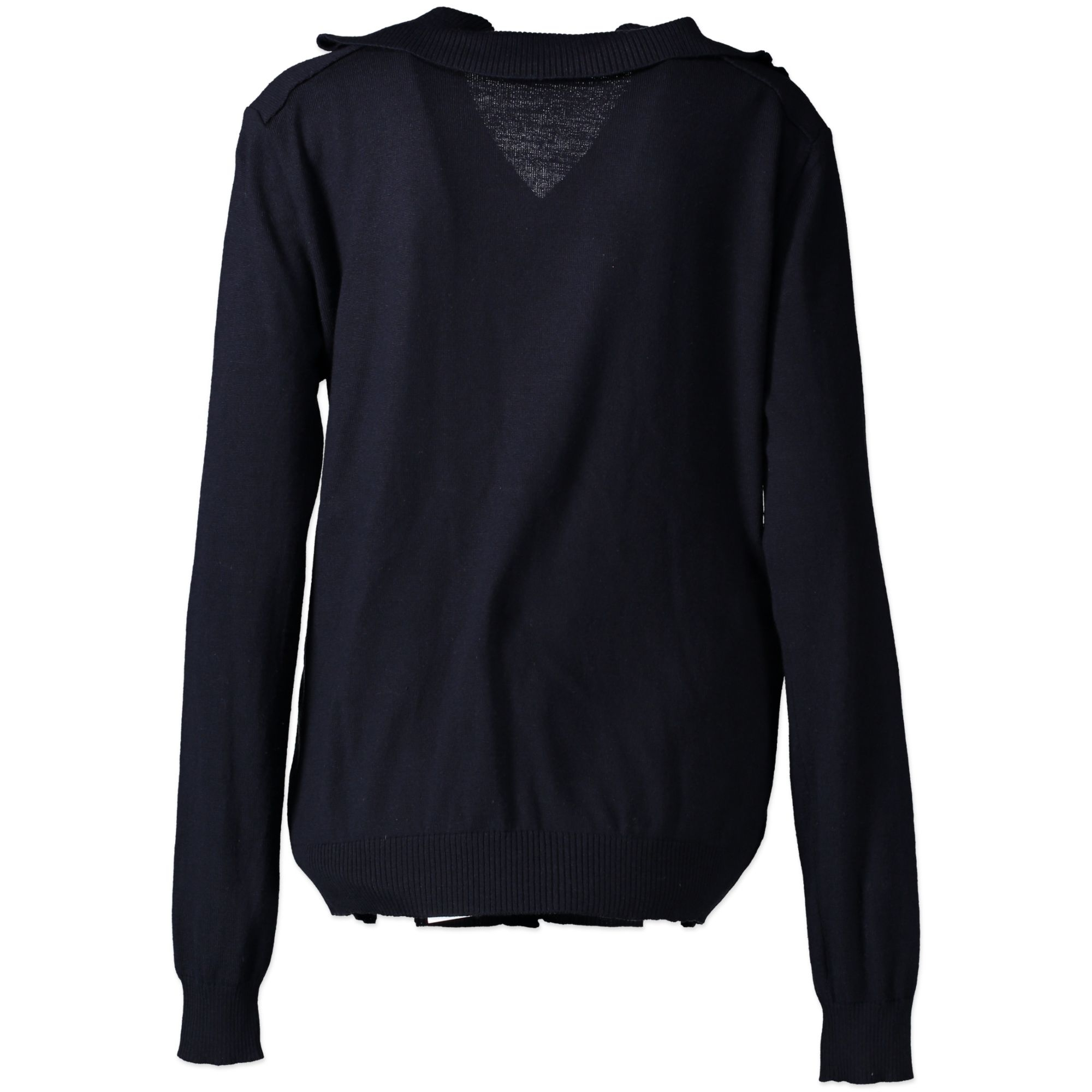 koop veilig Balenciaga Blue Cardigan - Size M