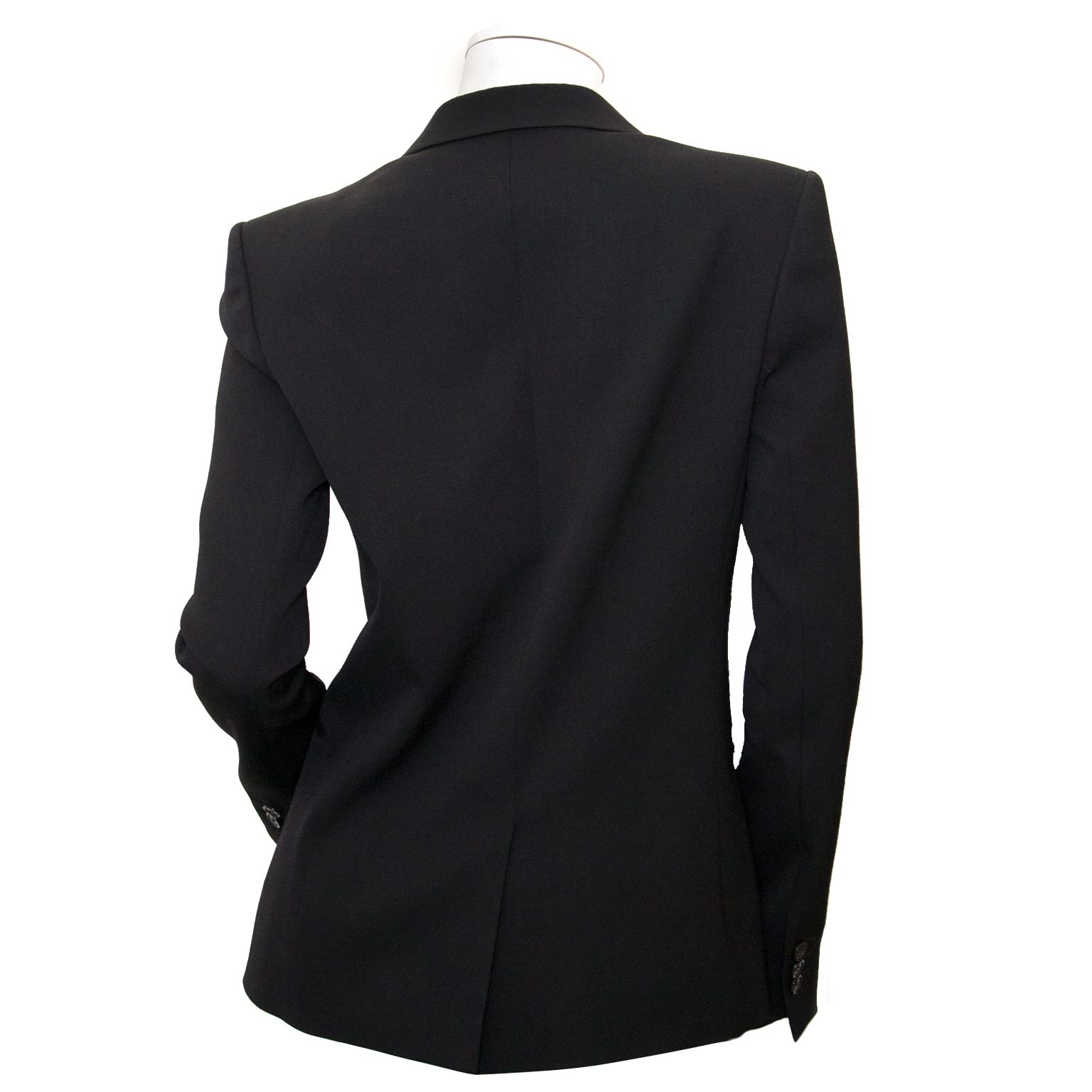 balmain black blazer now for sale at labellov vintage fashion webshop belgium