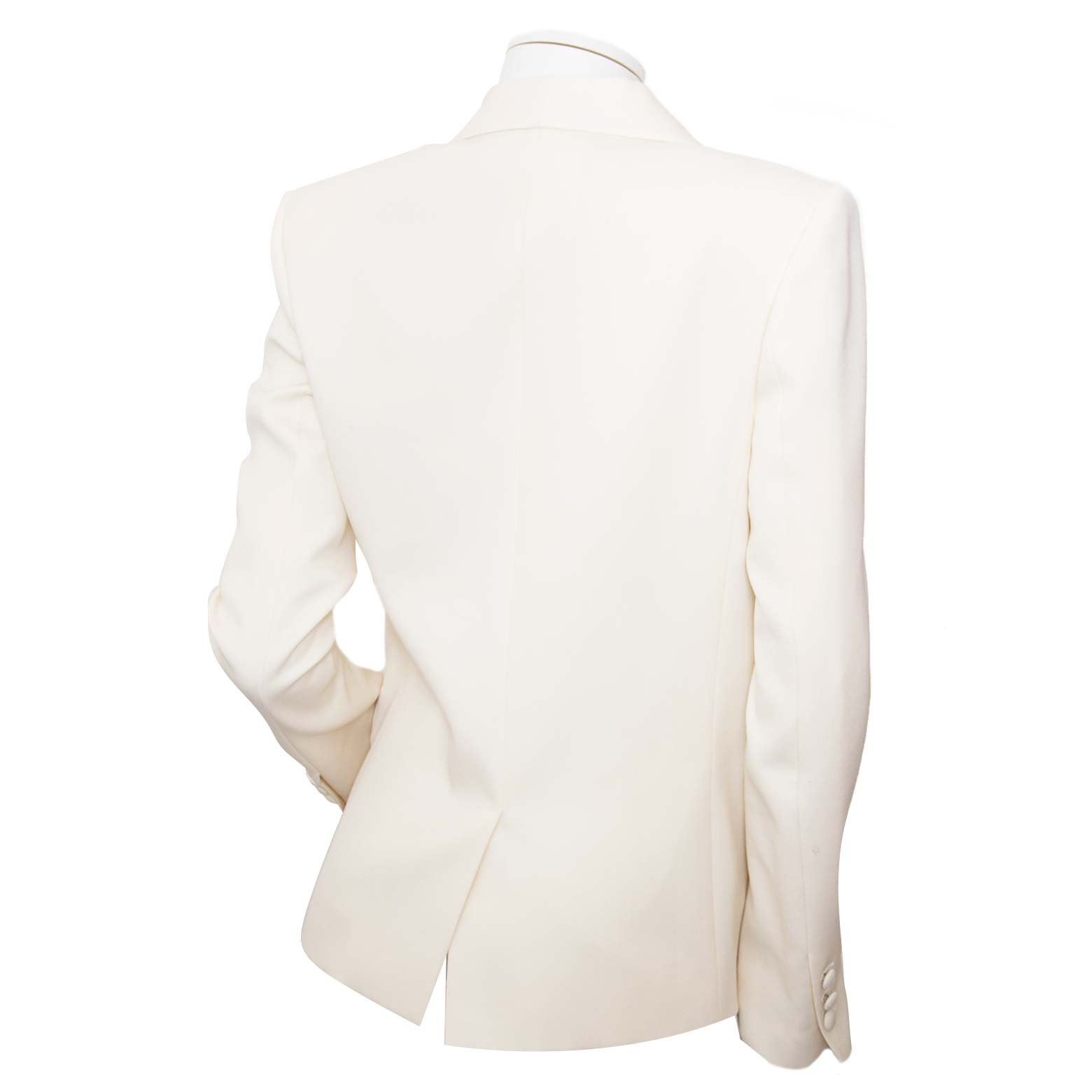 achetez Balmain White Blazer - 36  sur labellov en payez secure on ligne