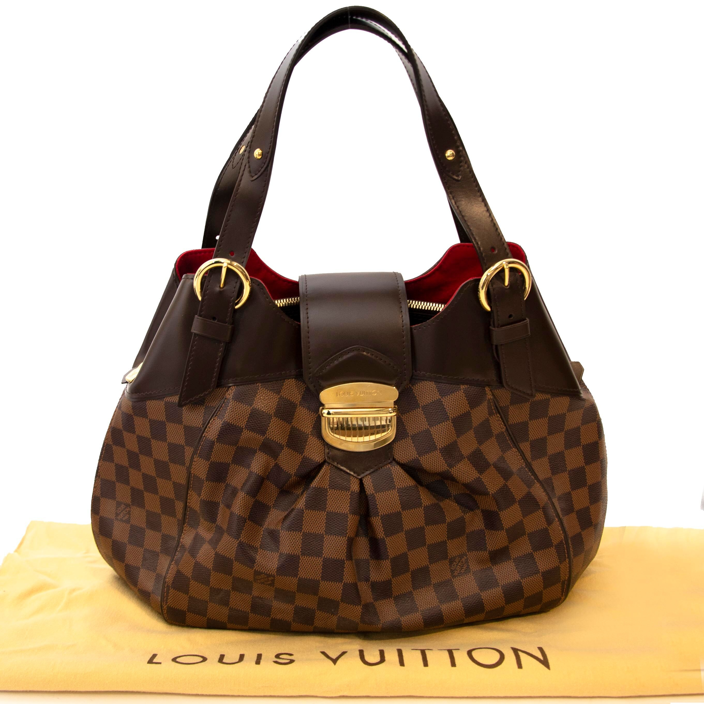 cheter en ligne seconde main Louis Vuitton Damier Ebene Sistina.
