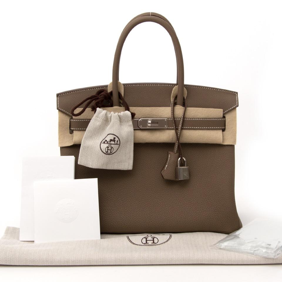 78af154a6b ... palladium hardware for the best Op zoek naar een Hermès Birkin  Koop  onmiddellijk online bij labellov.com veilig en