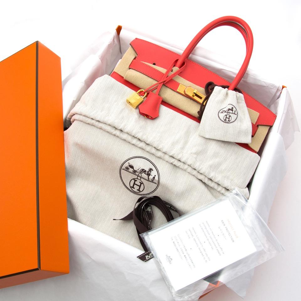 acheter en ligen cadeau hermes As New Hermes Birkin 30 Rose Jaipur Epsom GHW
