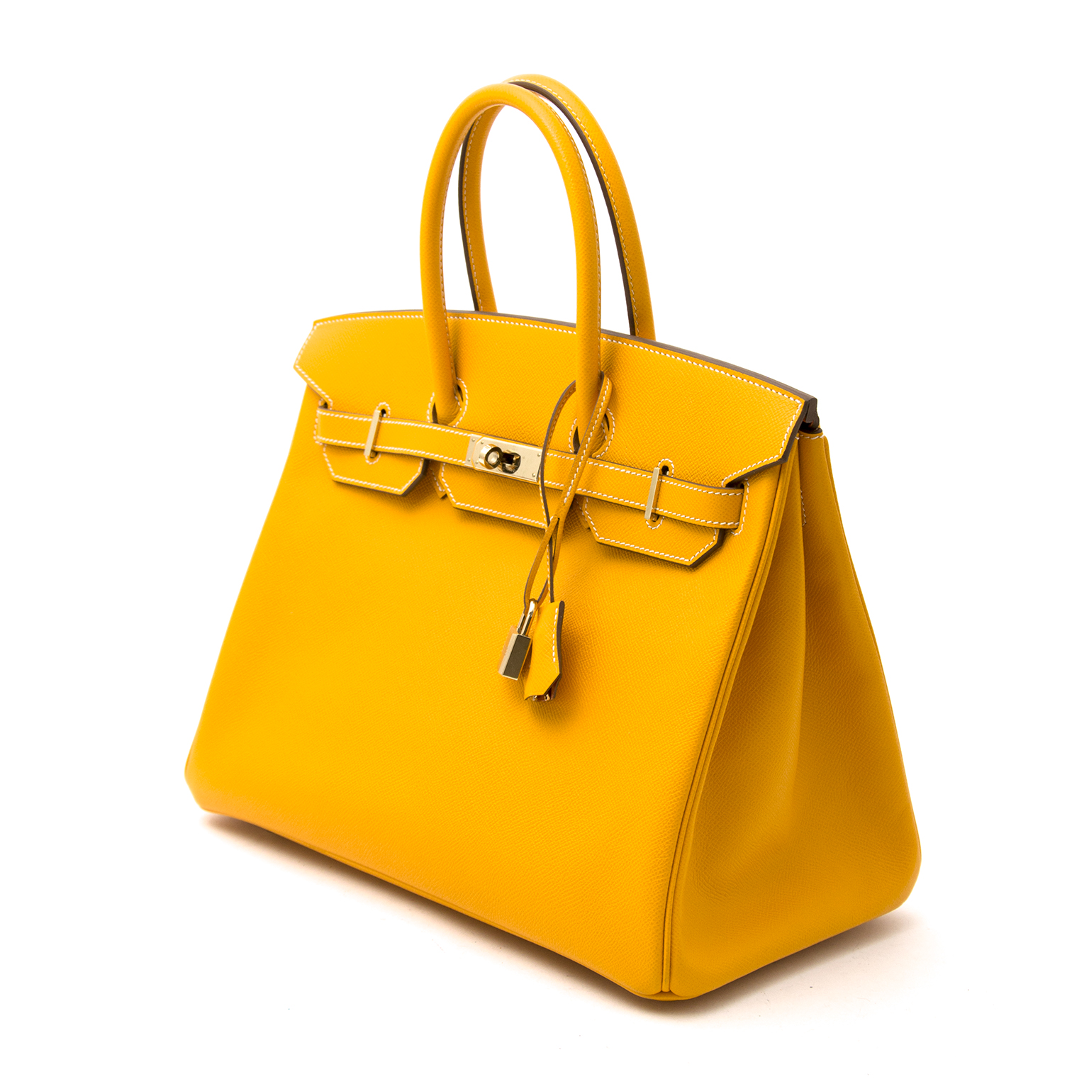 eff9ff68c3 ... Birkin 35cm CANDY collection jaune d or permabrass epsom · Hermes