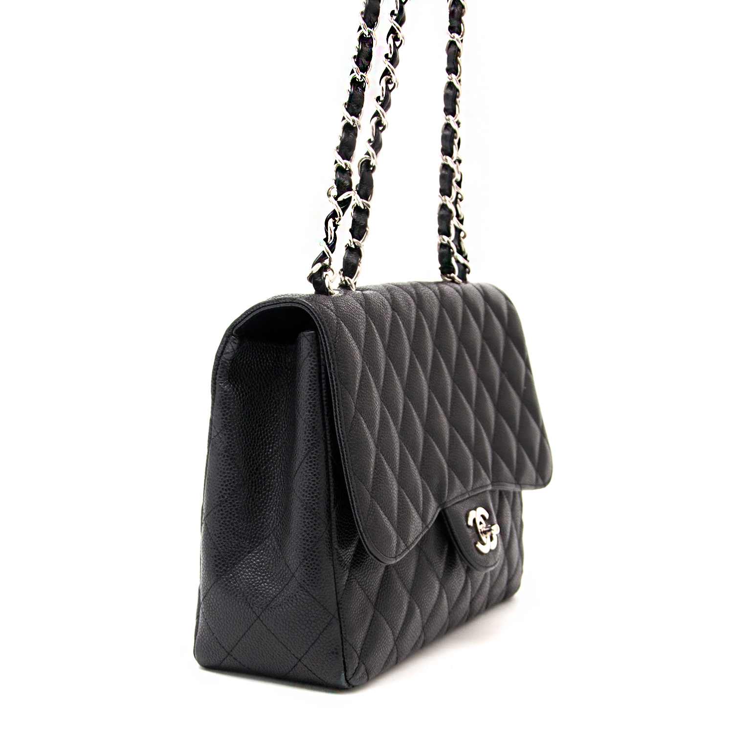 747559217cc6 ... labellov.com shop safe online at the best price Chanel jumbo flap bag  like new webshop www.