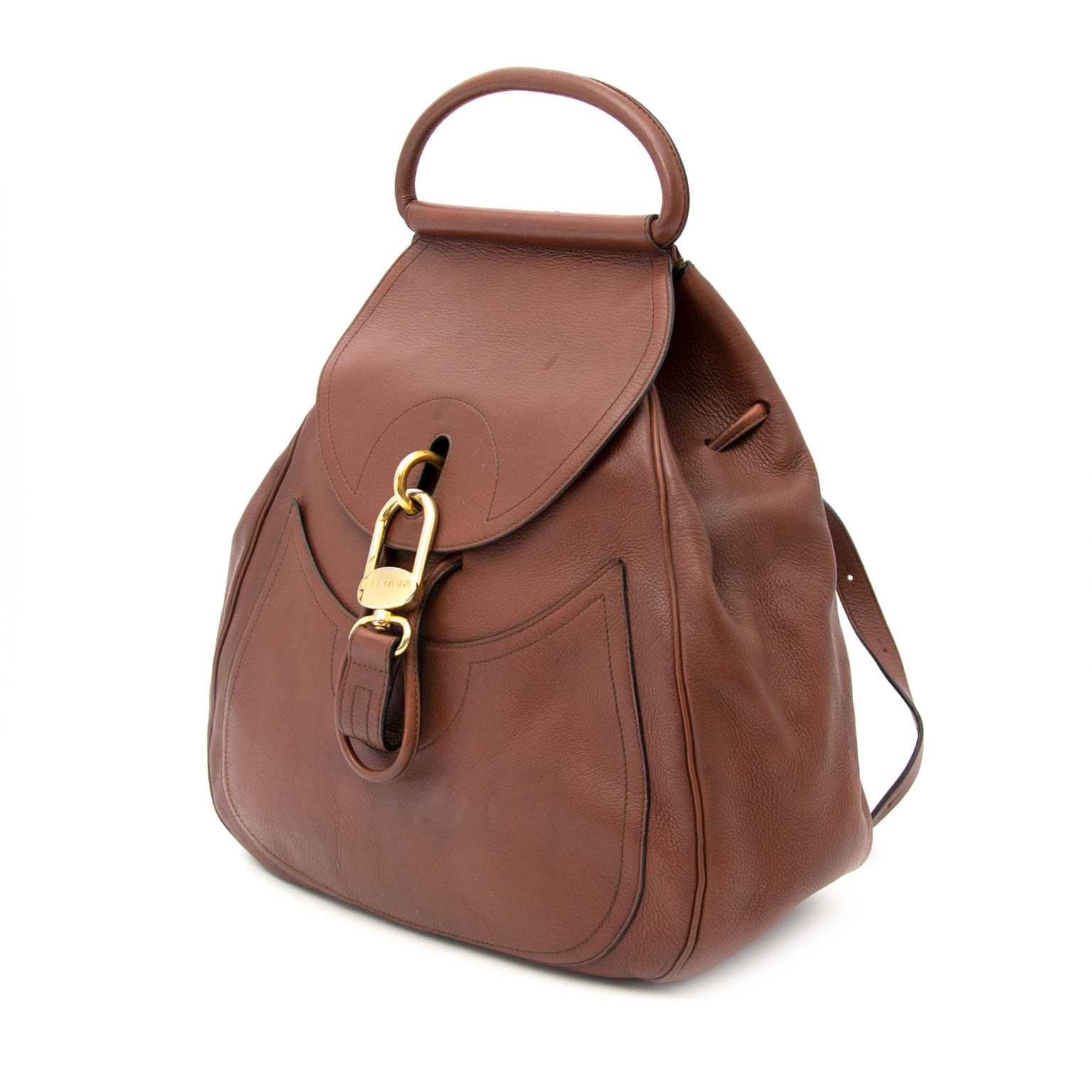Delvaux Cerceau Chestnut GM available for sale online. We buy and sell your luxury.