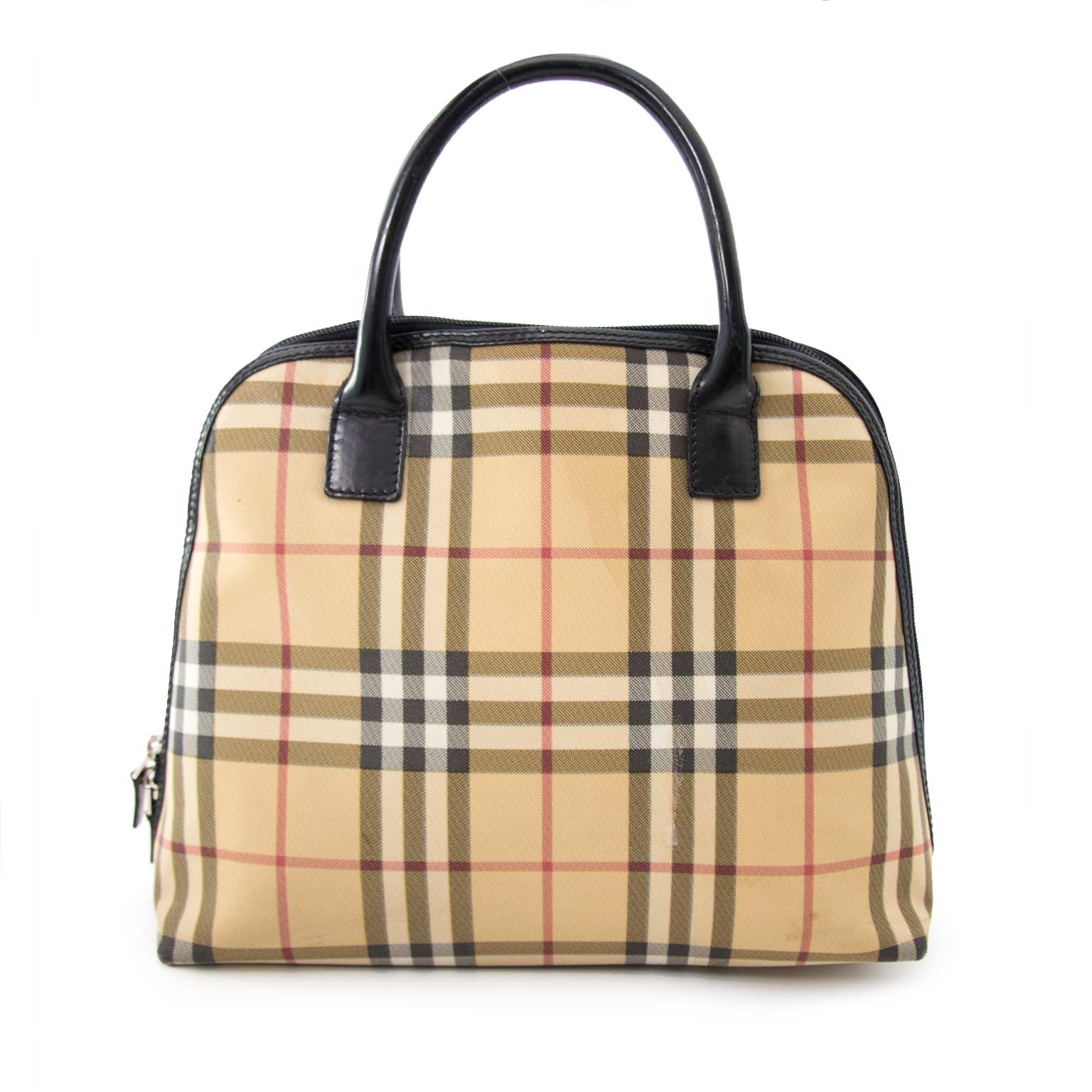 Burberry Alma Bag for sale online at Labellov secondhand luxury webshop for the best price