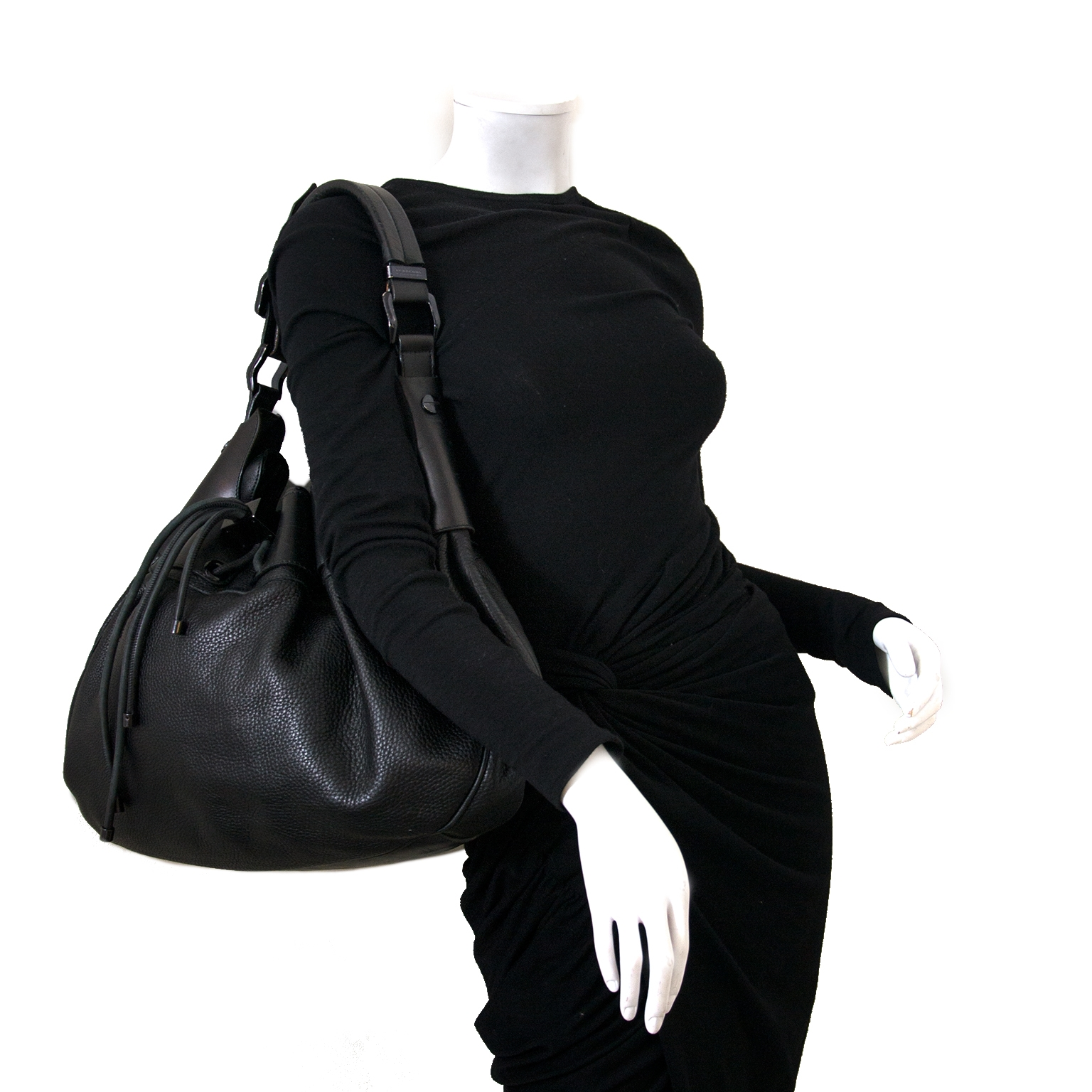 looking for a Burberry Black Large Warrior Hobo Bag? now online for the best price at labellov.com