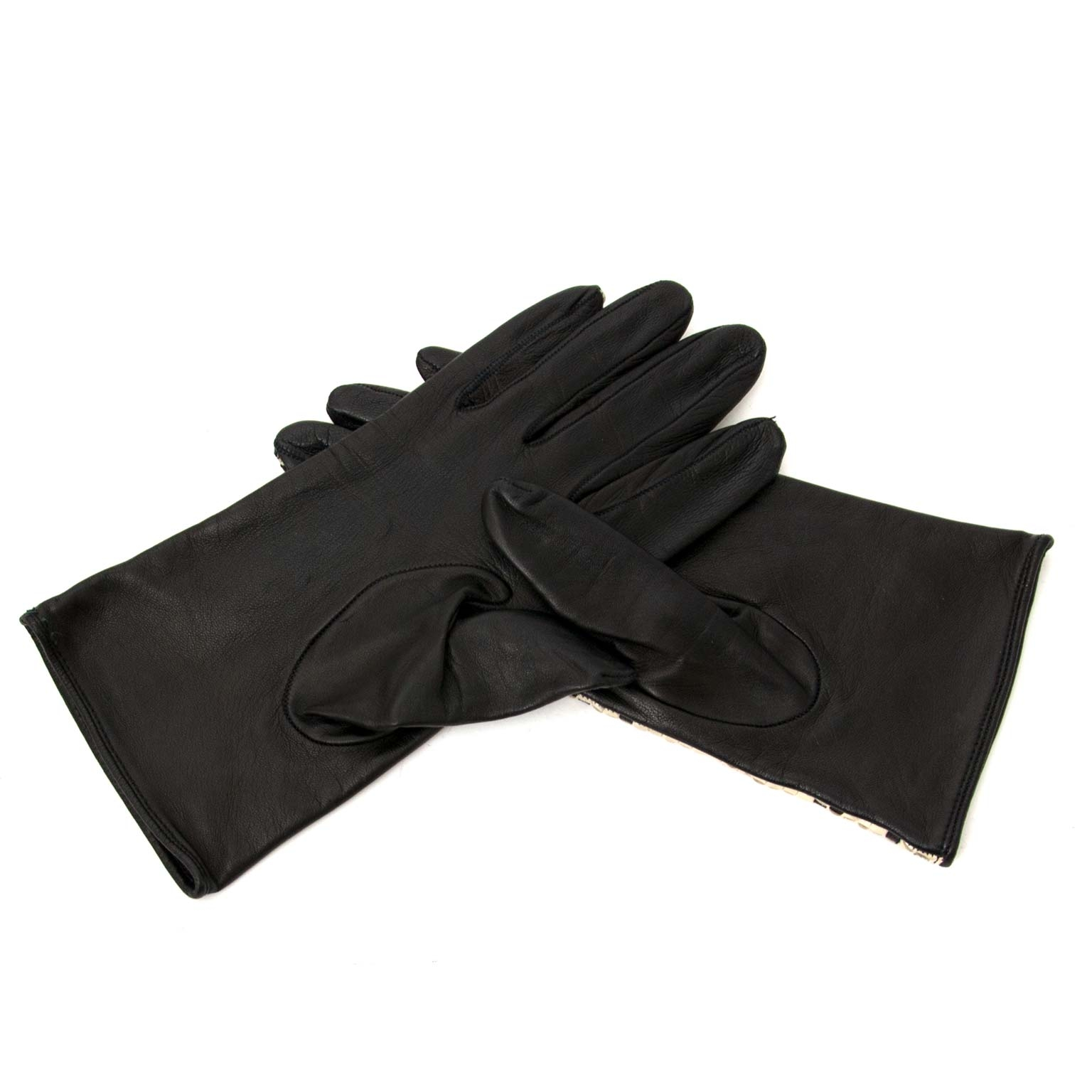 shop safe and secure online at labellov.com Burberry Woven Gloves